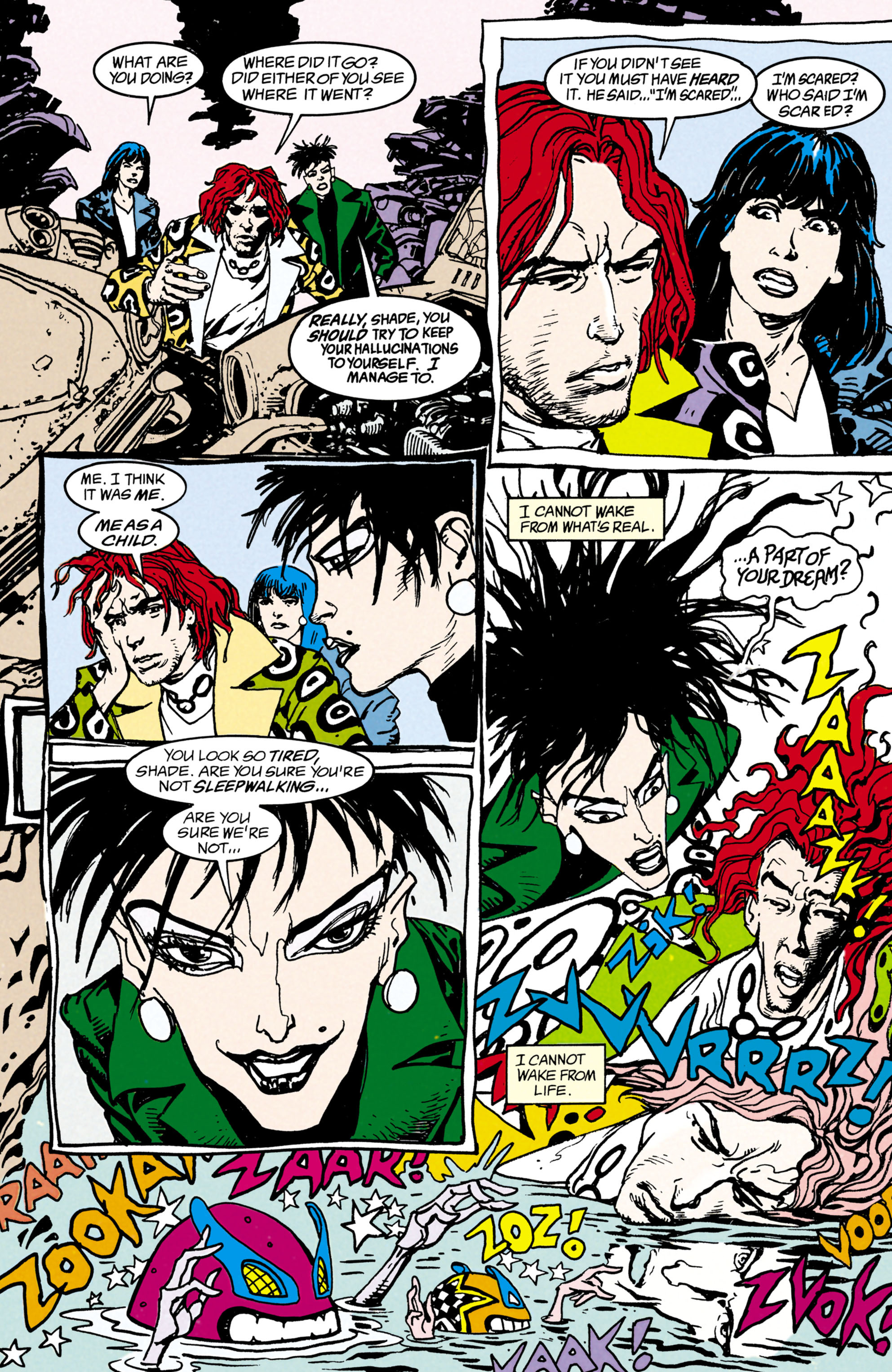 Read online Shade, the Changing Man comic -  Issue #22 - 4