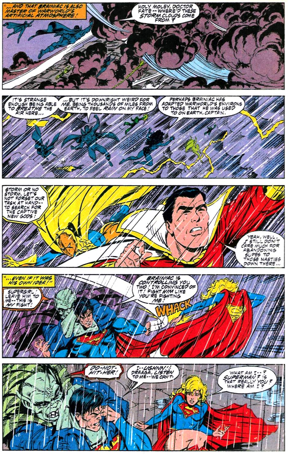 Read online Adventures of Superman (1987) comic -  Issue #488 - 22