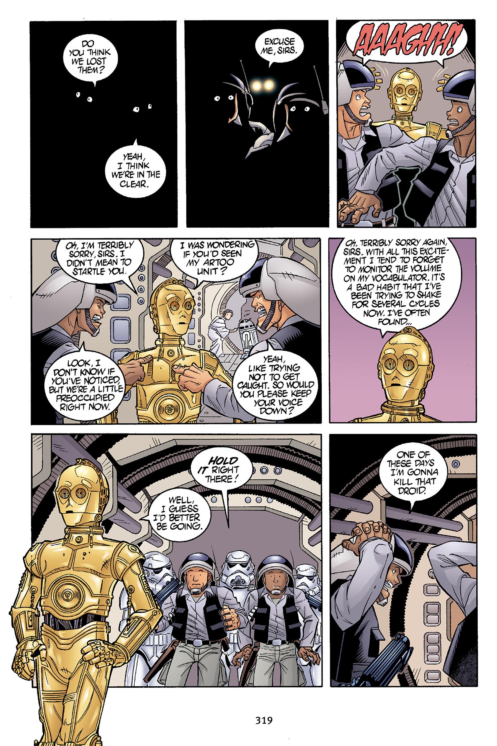 Read online Star Wars Omnibus comic -  Issue # Vol. 30 - 316