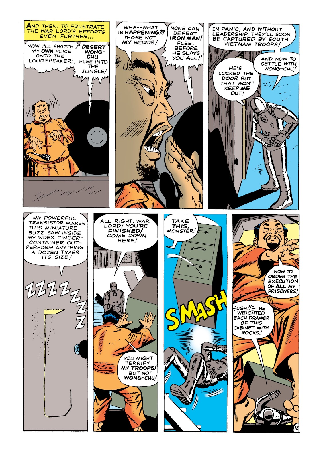 Read online Marvel Masterworks: The Invincible Iron Man comic -  Issue # TPB 1 (Part 1) - 15
