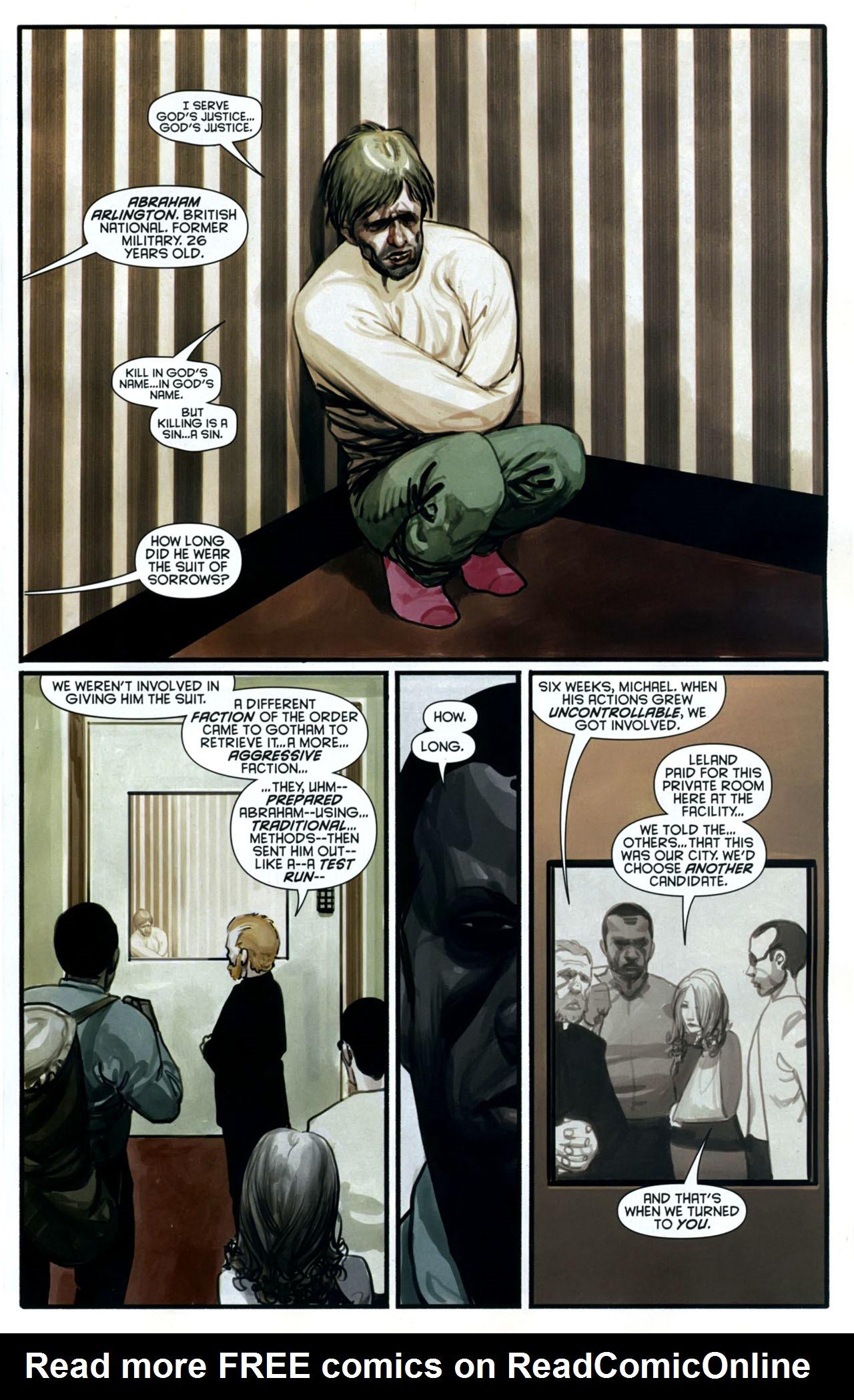 Read online Azrael: Death's Dark Knight comic -  Issue #2 - 22