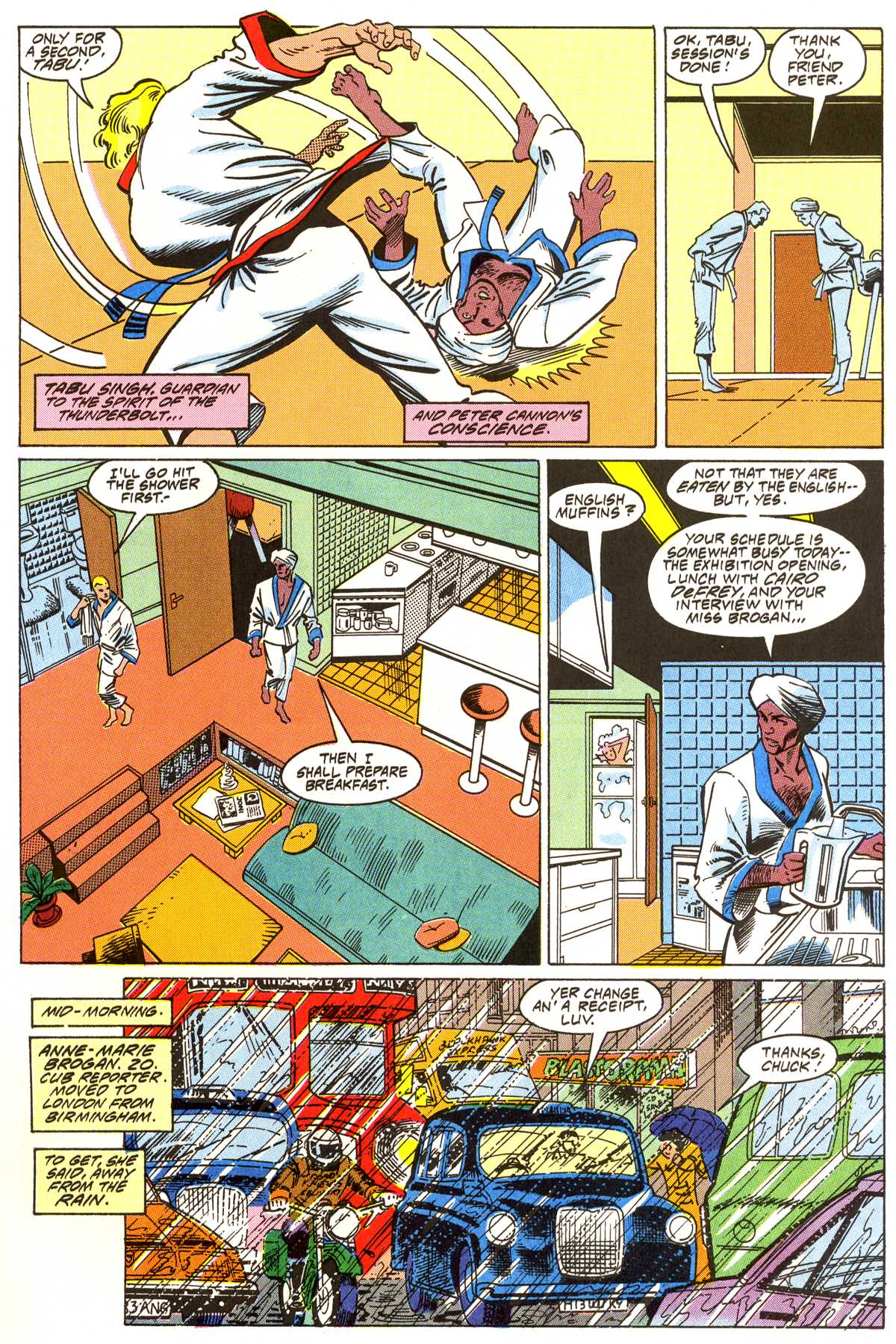 Read online Peter Cannon--Thunderbolt (1992) comic -  Issue #3 - 6