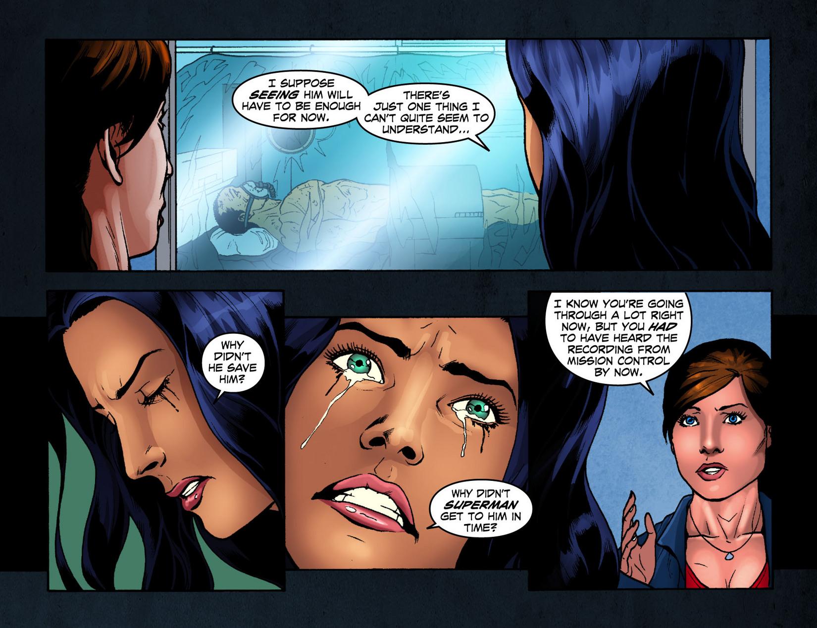 Read online Smallville: Season 11 comic -  Issue #7 - 13