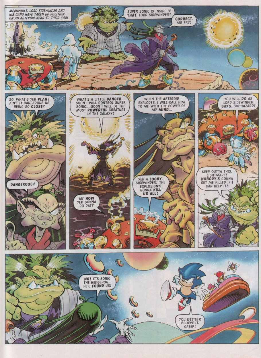 Read online Sonic the Comic comic -  Issue #99 - 6