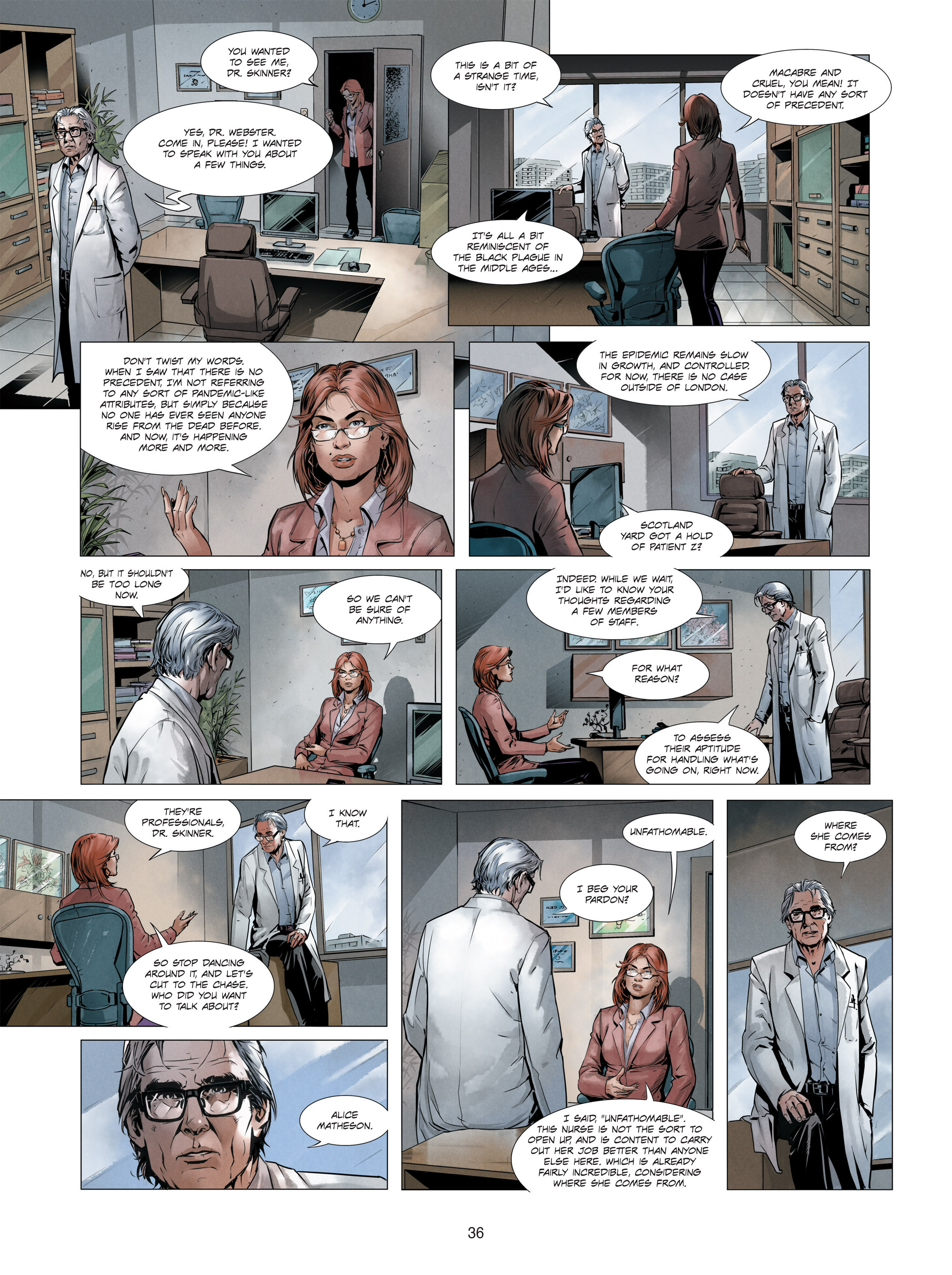 Read online Alice Matheson comic -  Issue #3 - 36