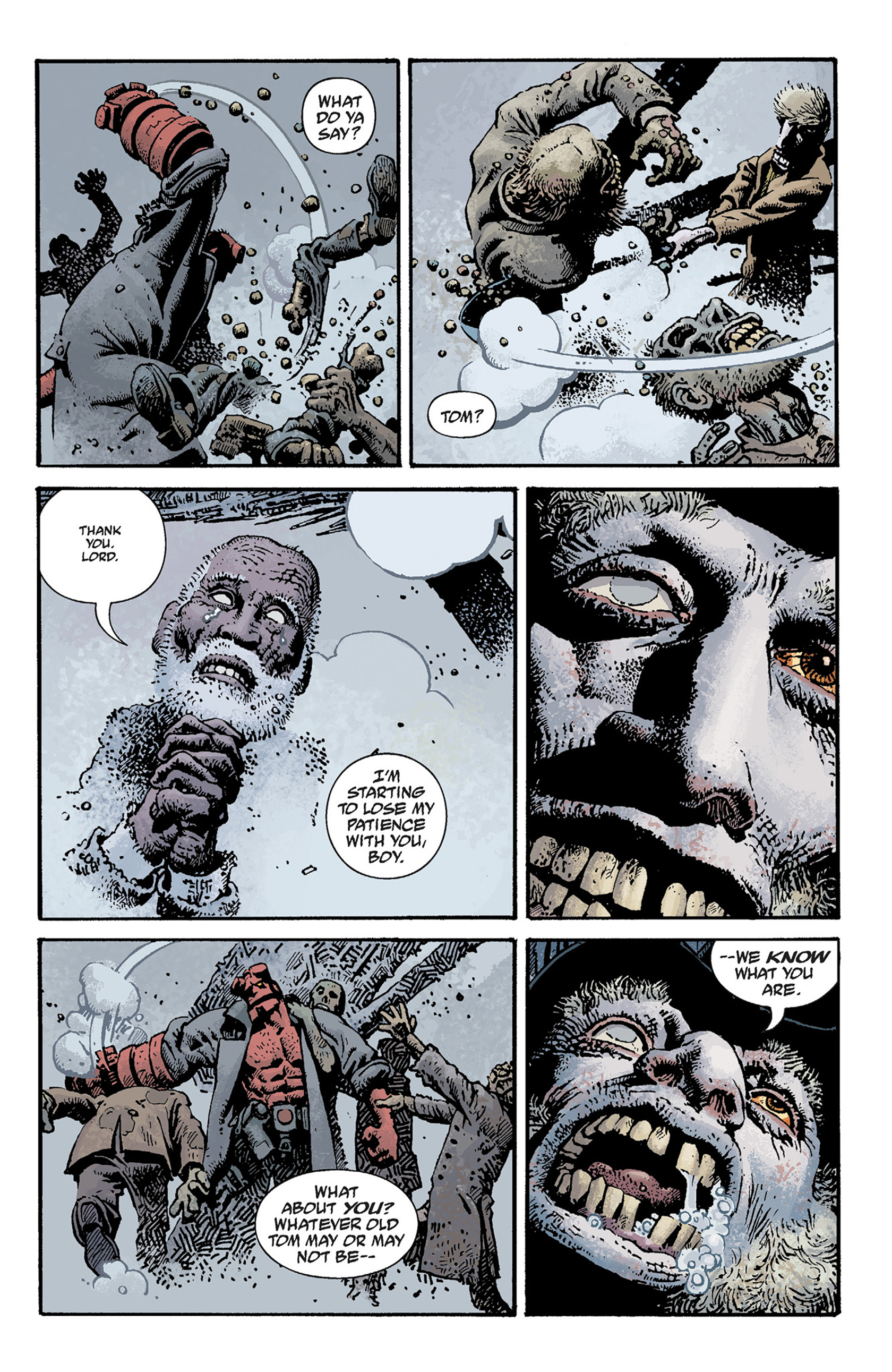 Read online Hellboy: The Crooked Man and Others comic -  Issue # TPB - 69