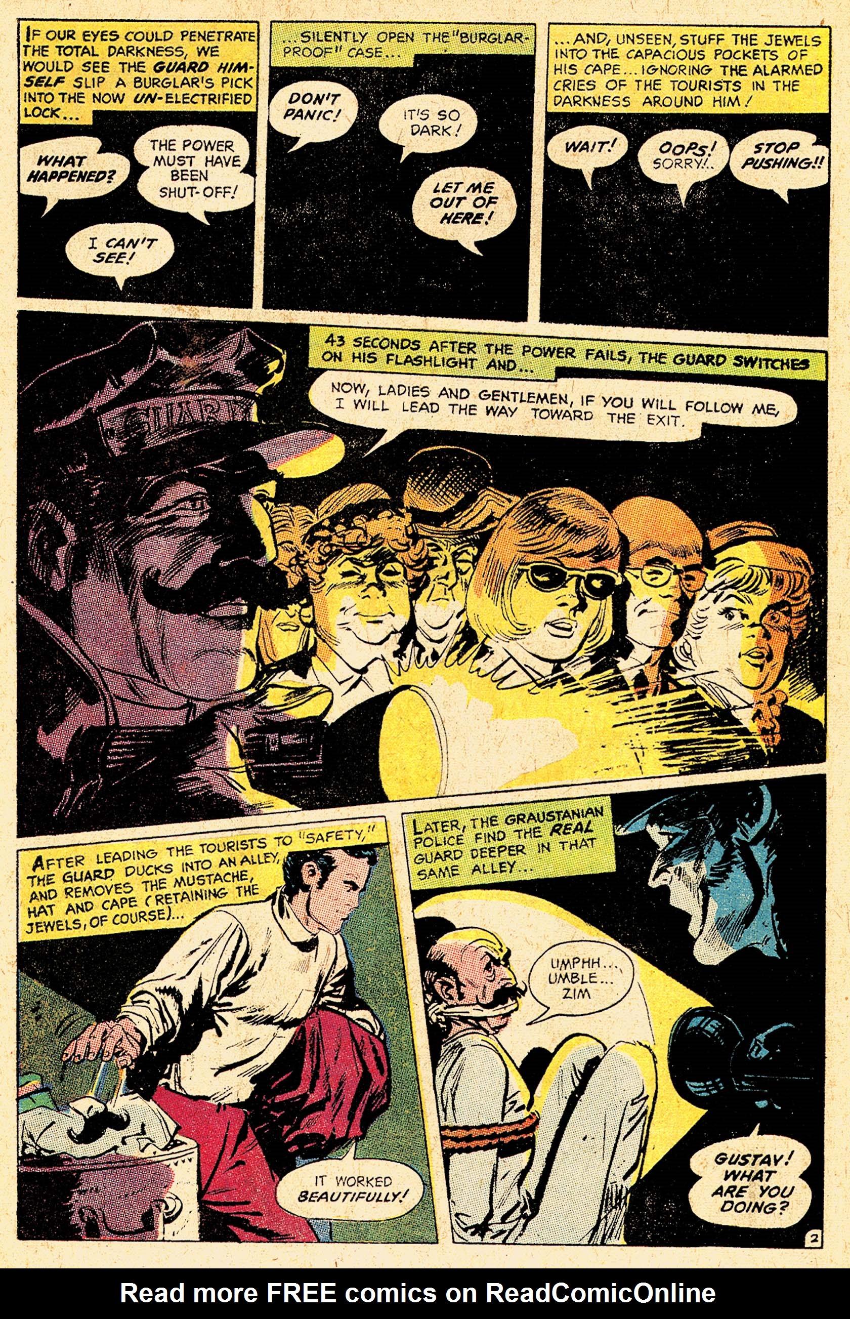 Read online Secret Six (1968) comic -  Issue #5 - 4