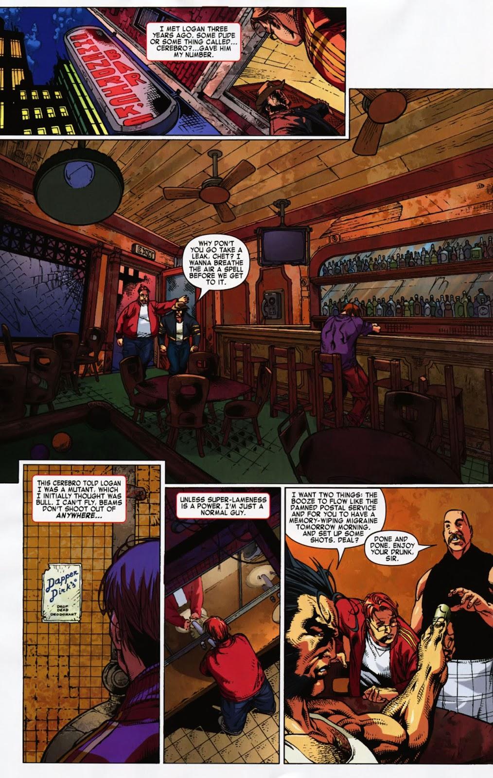 Read online Wolverine (2003) comic -  Issue #900 - 47