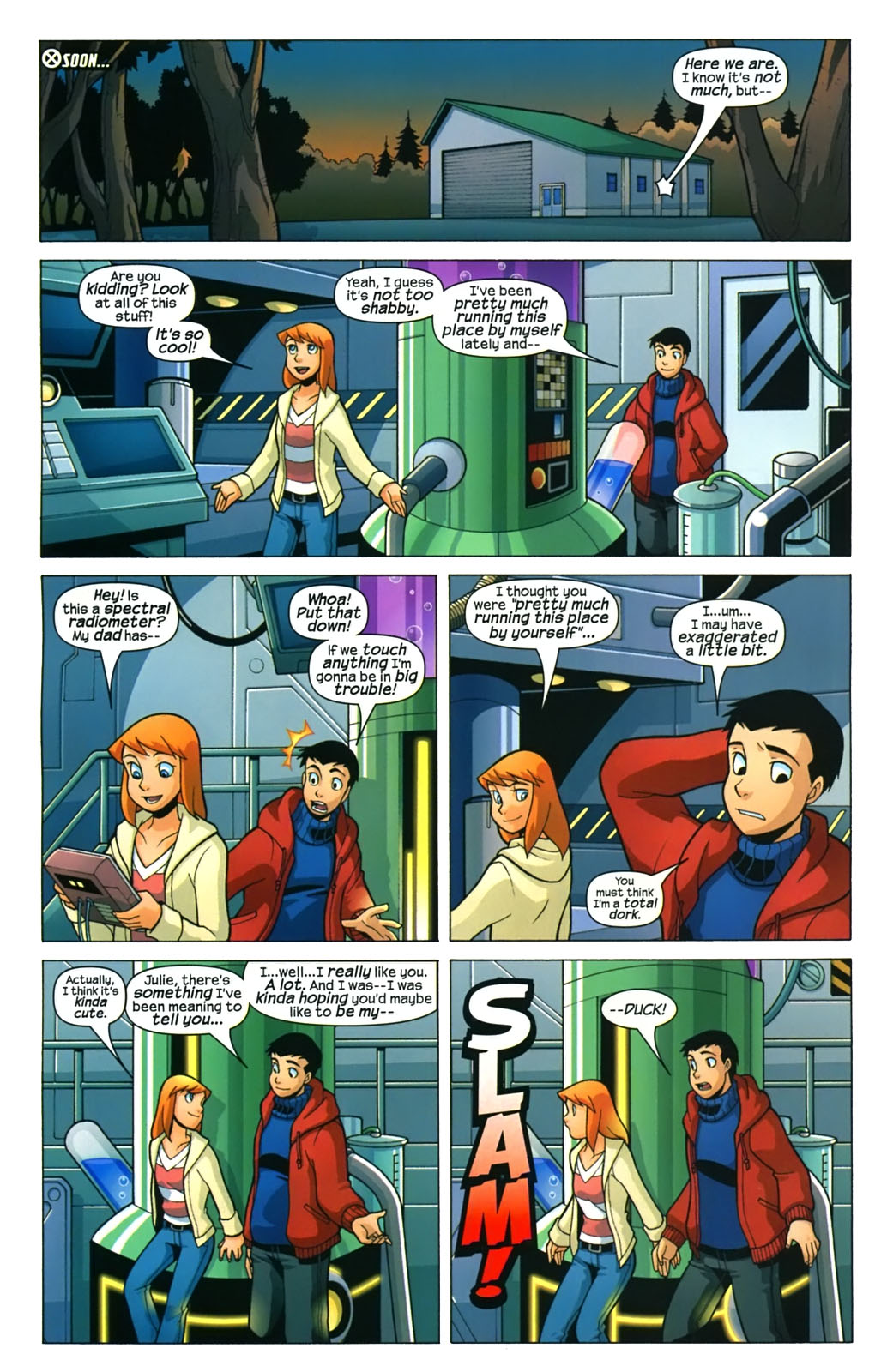 Read online X-Men and Power Pack comic -  Issue #4 - 11