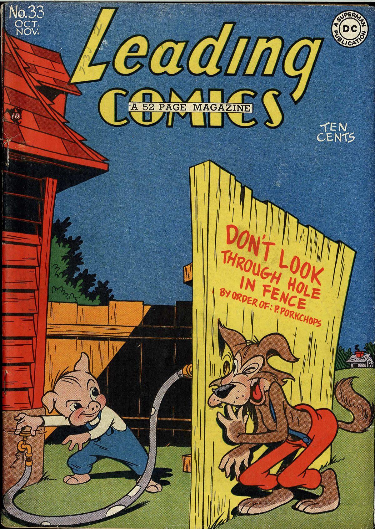 Leading Comics 33 Page 1