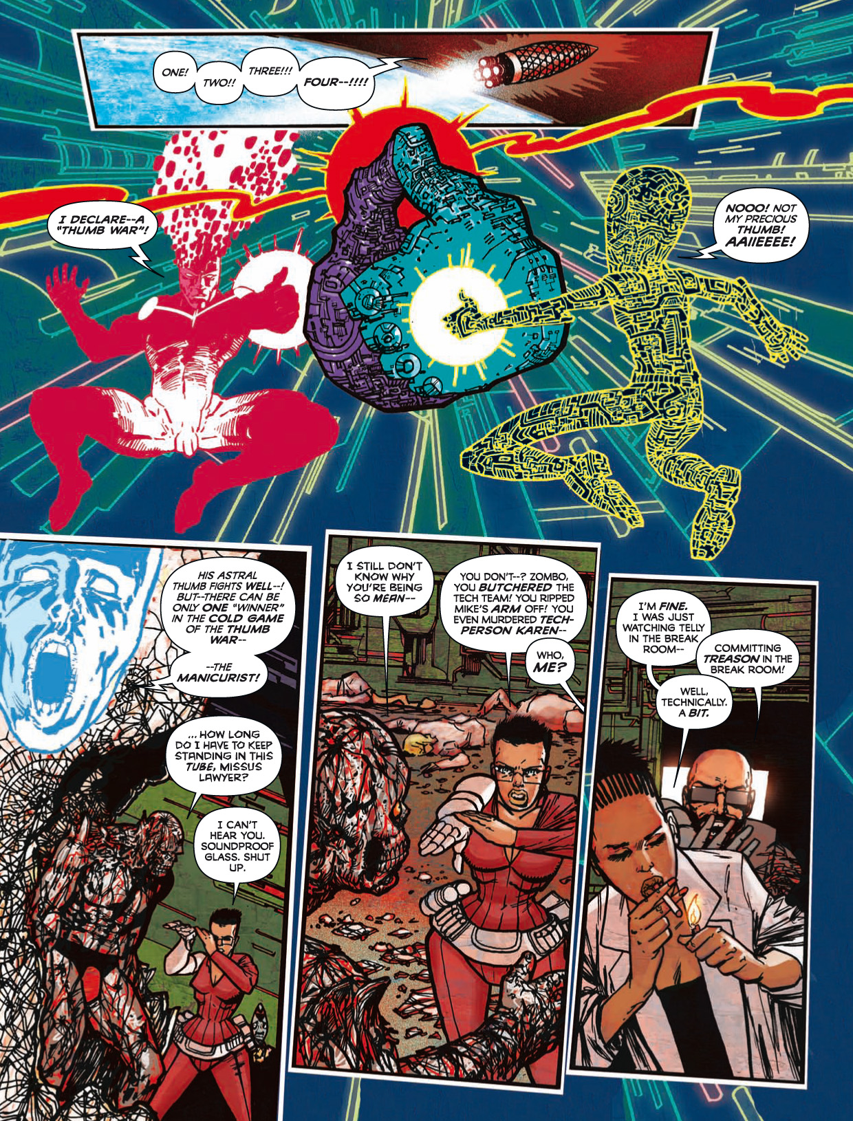 Read online 2000 AD comic -  Issue #1746 - 173