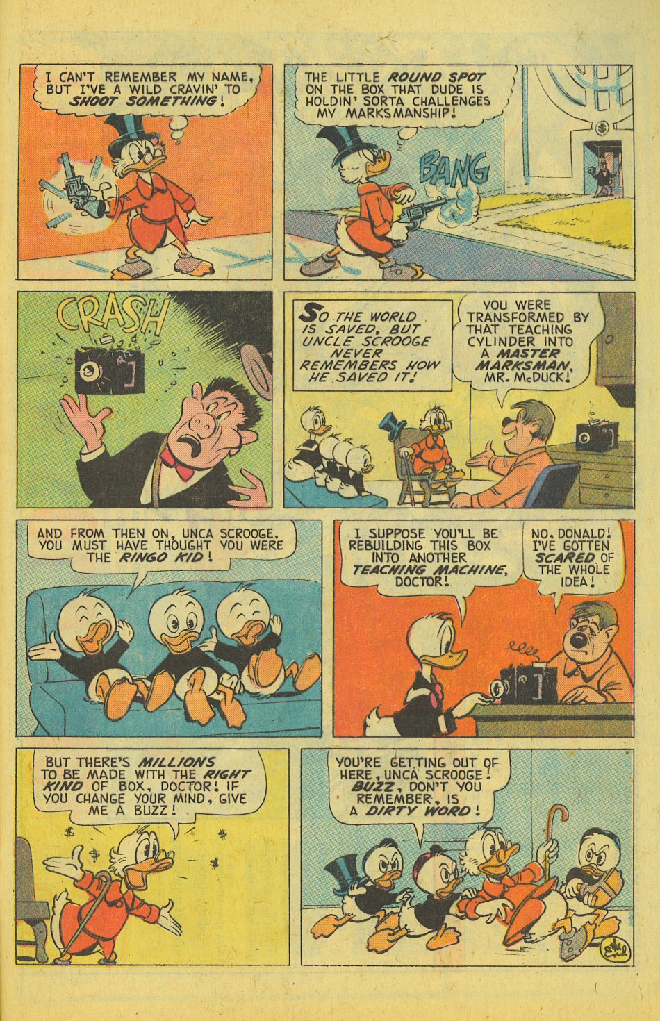 Read online Uncle Scrooge (1953) comic -  Issue #123 - 33