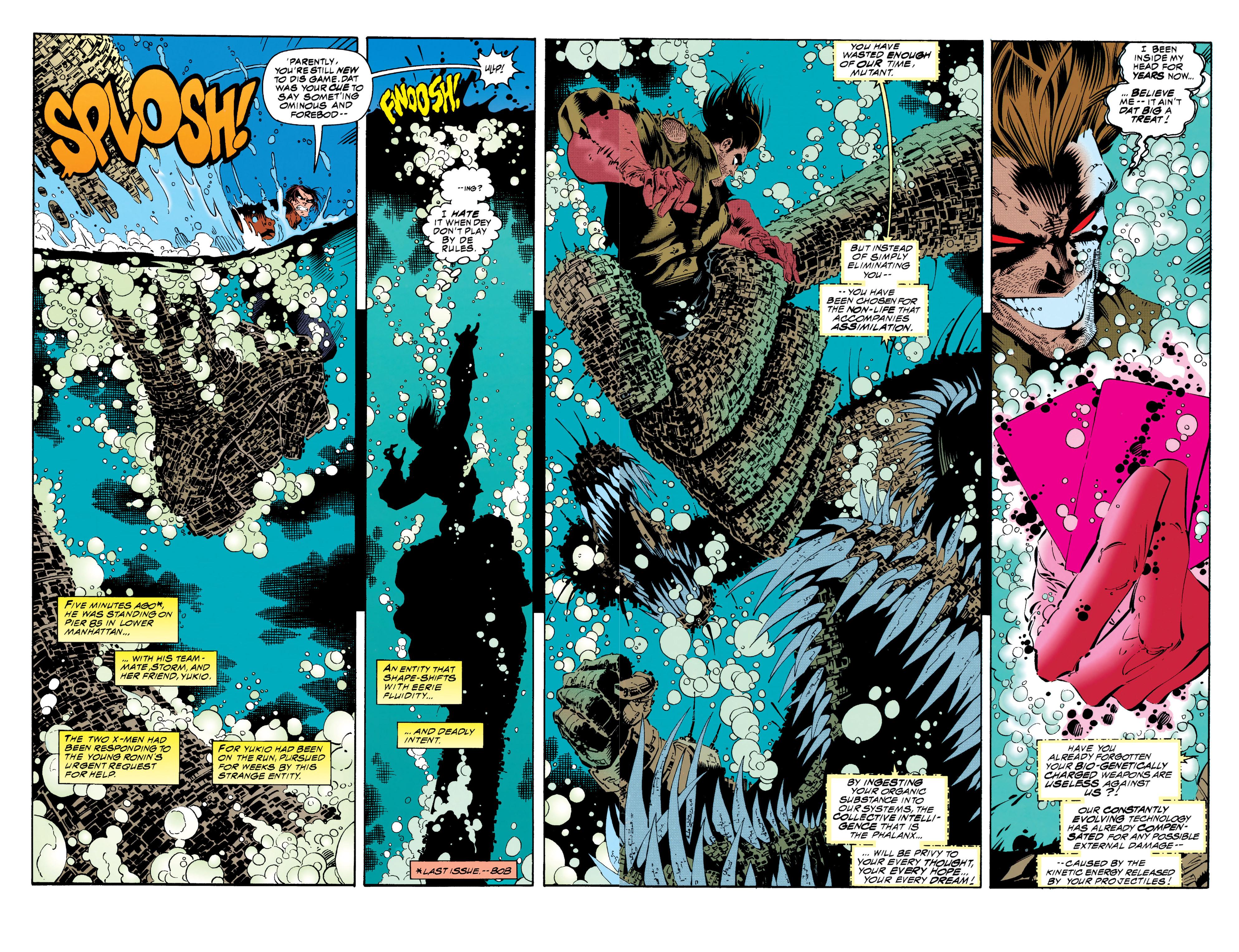 Read online Uncanny X-Men (1963) comic -  Issue #313 - 3