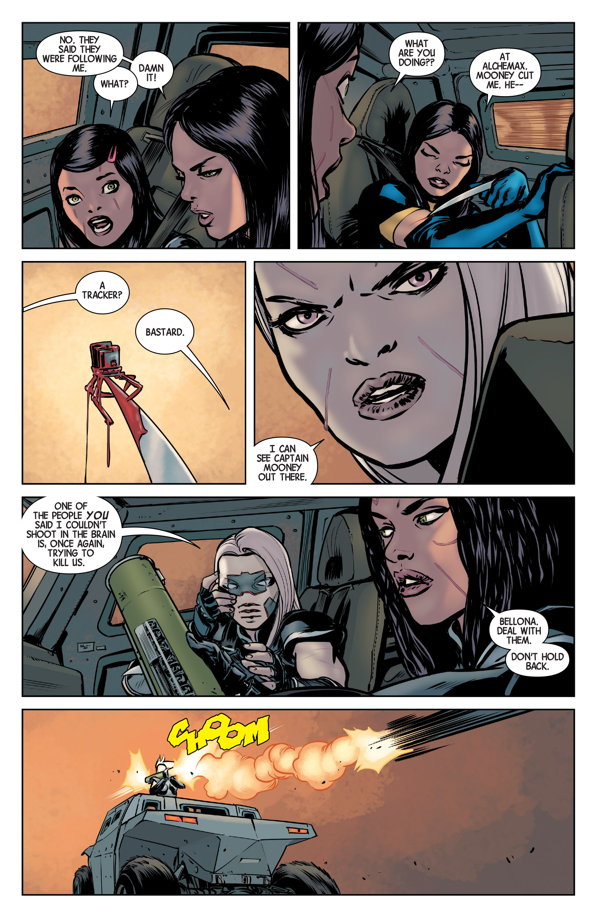 Read online All-New Wolverine (2016) comic -  Issue #3 - 12