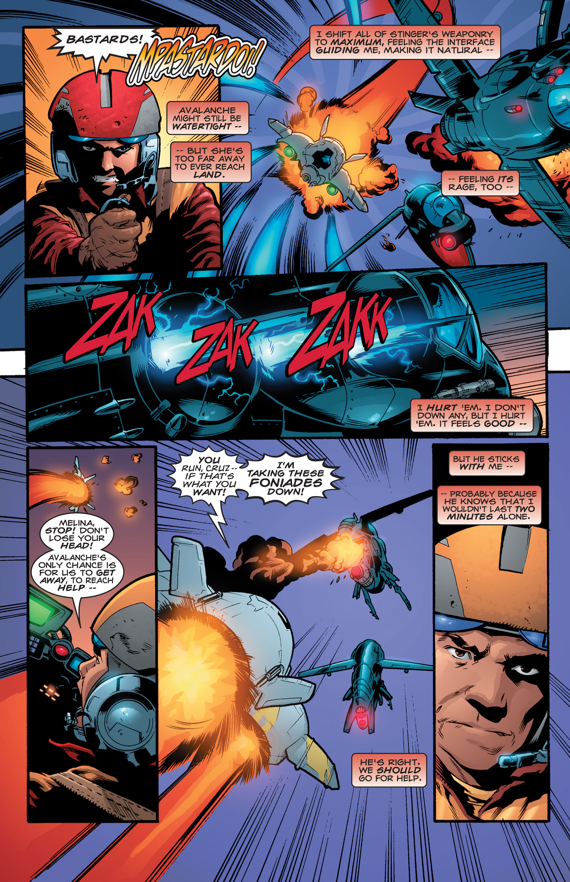 Read online Shockrockets comic -  Issue # TPB - 116