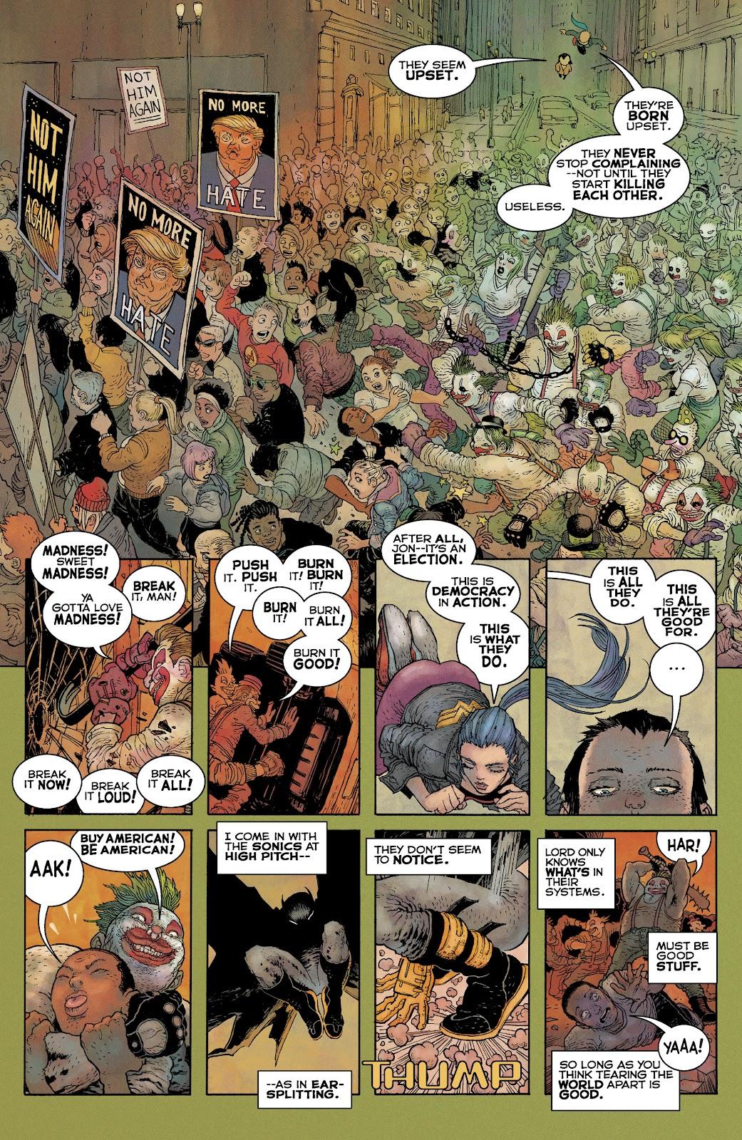 Dark Knight Returns: The Golden Child issue Full - Page 8