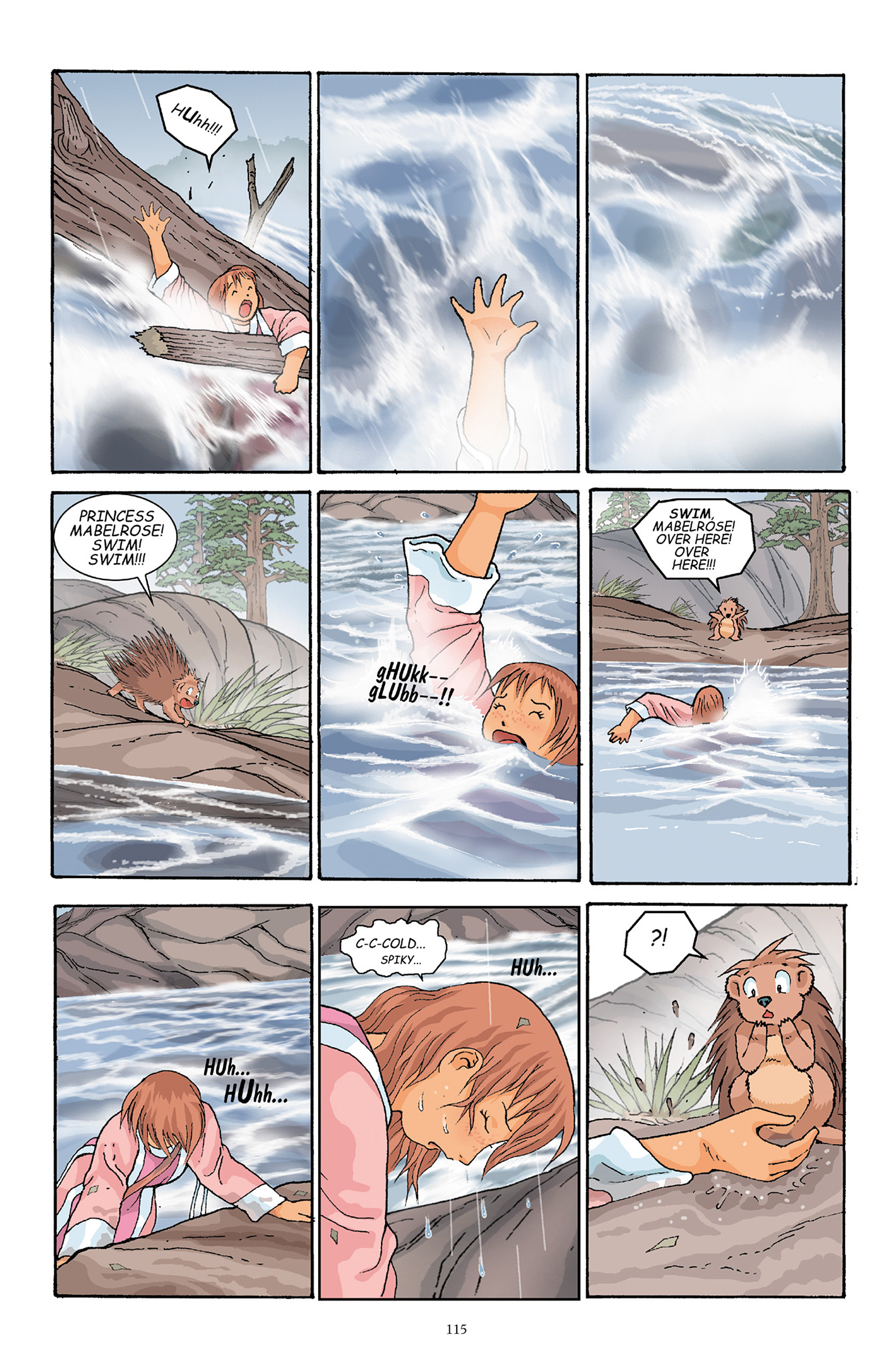 Read online Courageous Princess comic -  Issue # TPB 1 - 114