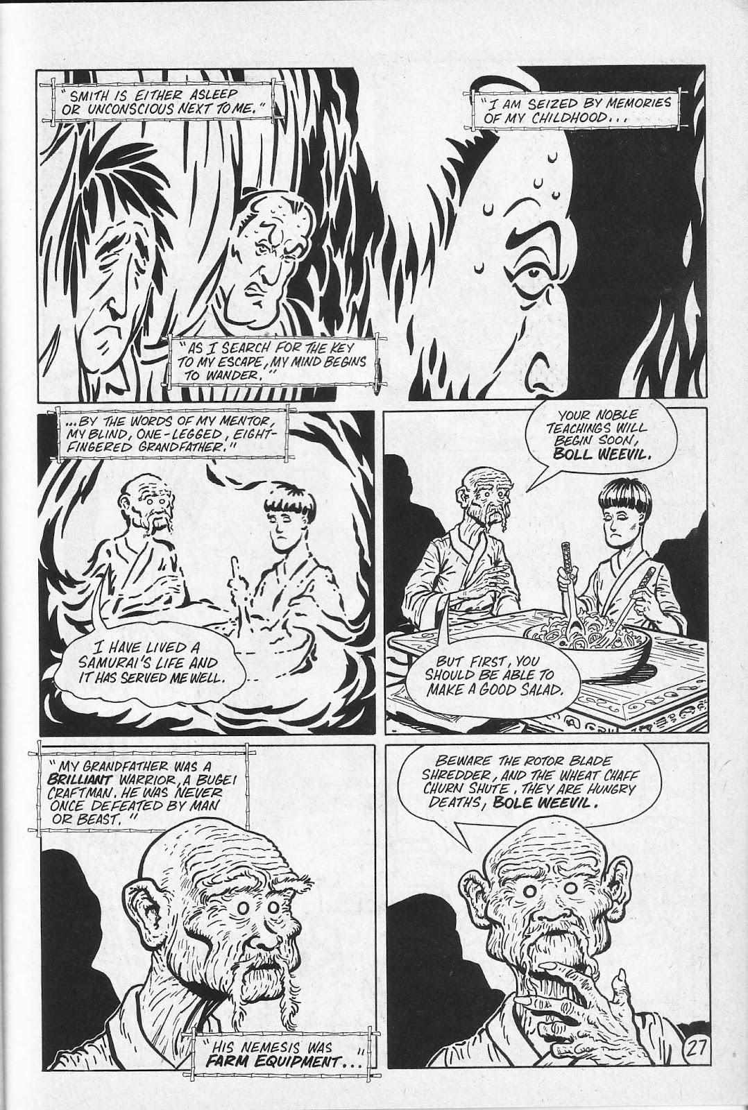 Read online Paul the Samurai (1991) comic -  Issue # TPB - 33