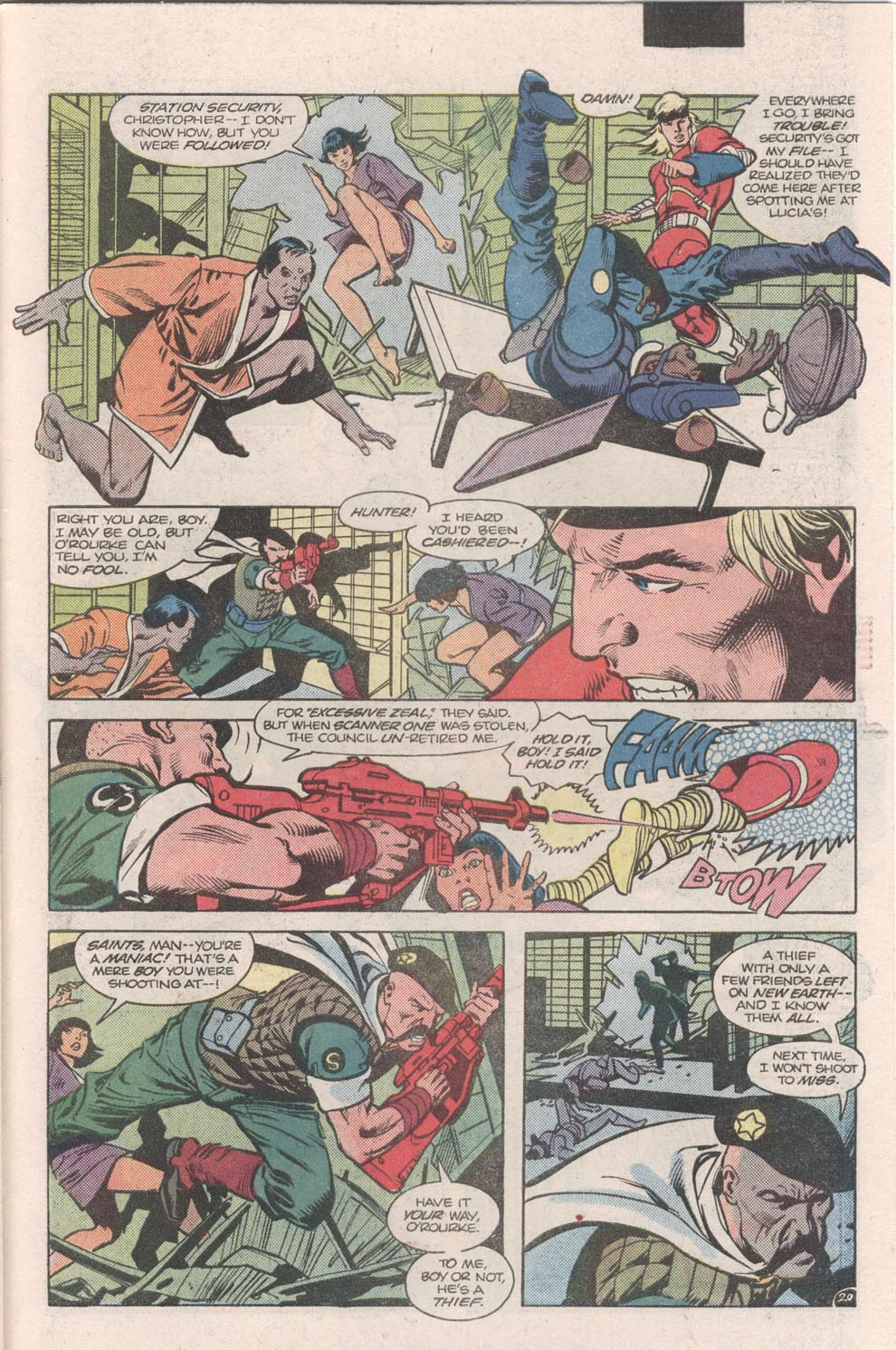 Read online Atari Force (1984) comic -  Issue #9 - 22