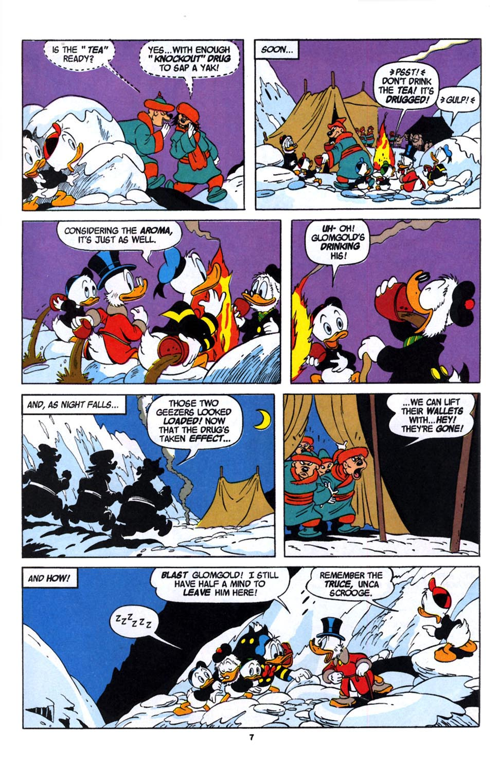 Read online Uncle Scrooge (1953) comic -  Issue #246 - 9