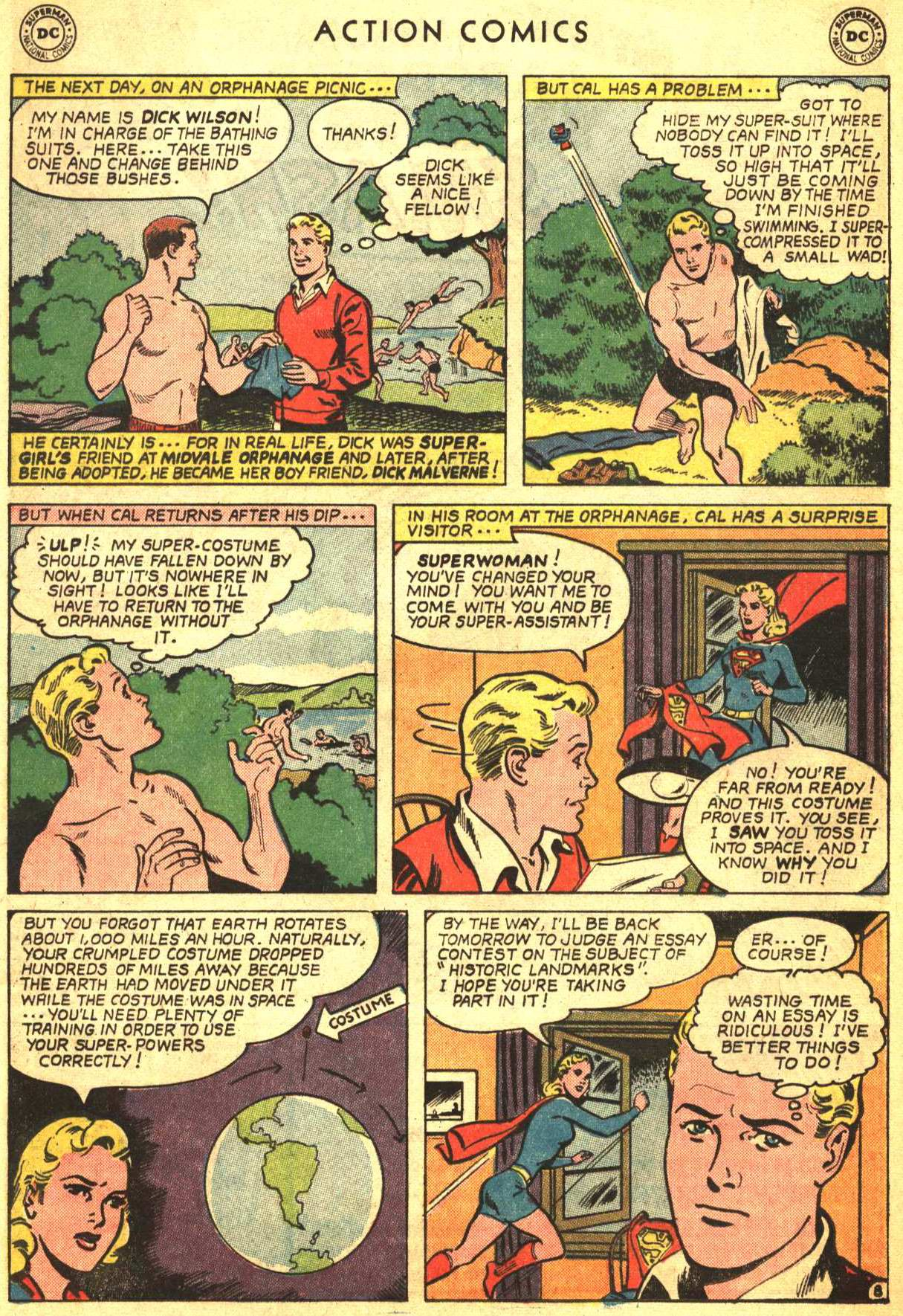Read online Action Comics (1938) comic -  Issue #332 - 28