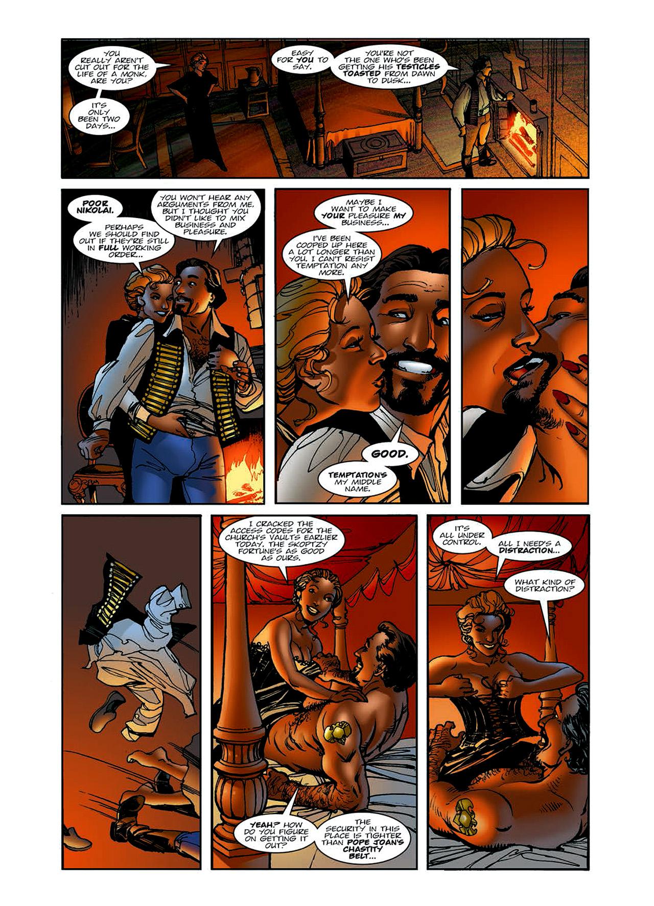 Read online Nikolai Dante comic -  Issue # TPB 6 - 23
