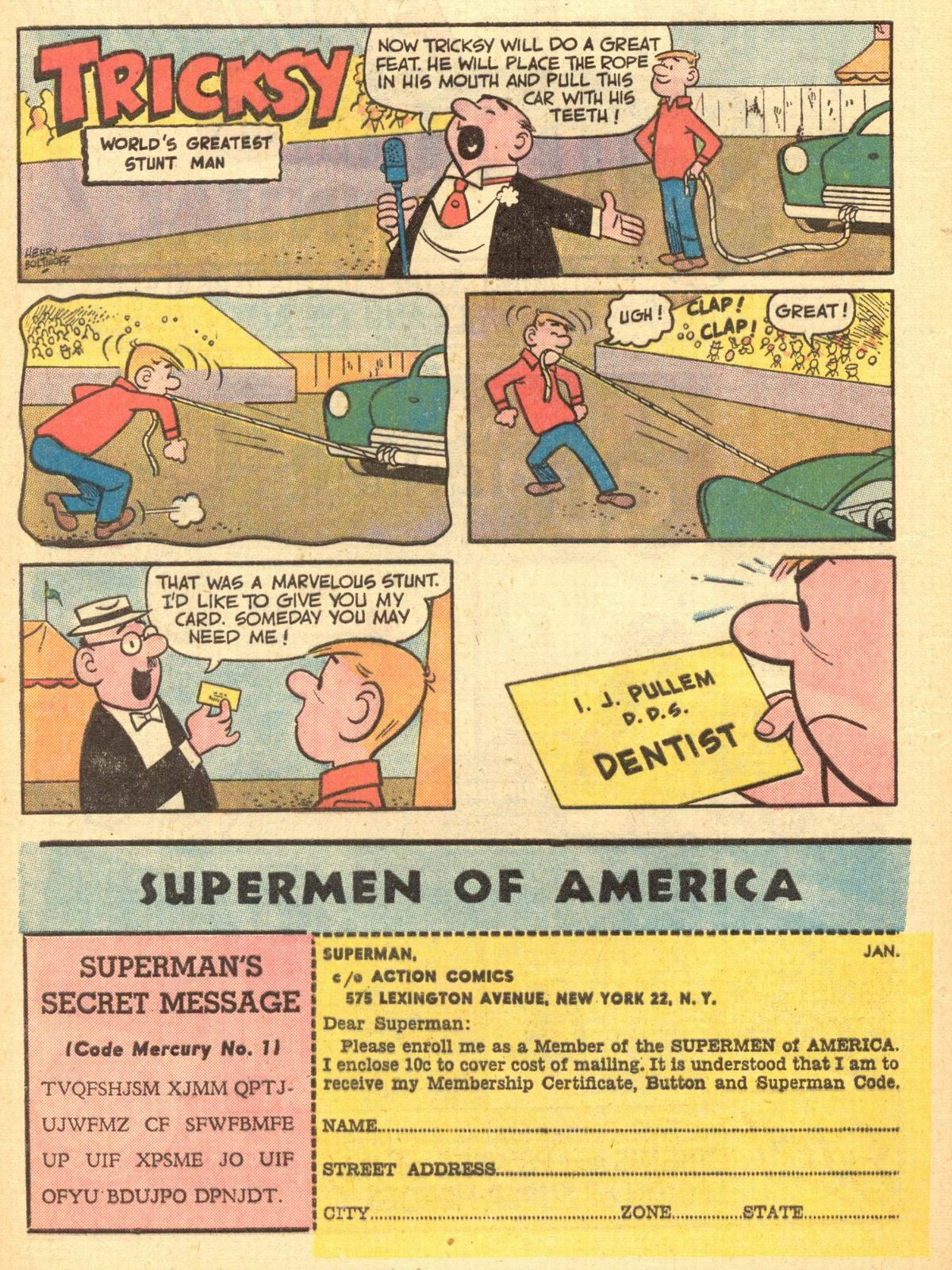 Read online Action Comics (1938) comic -  Issue #284 - 20