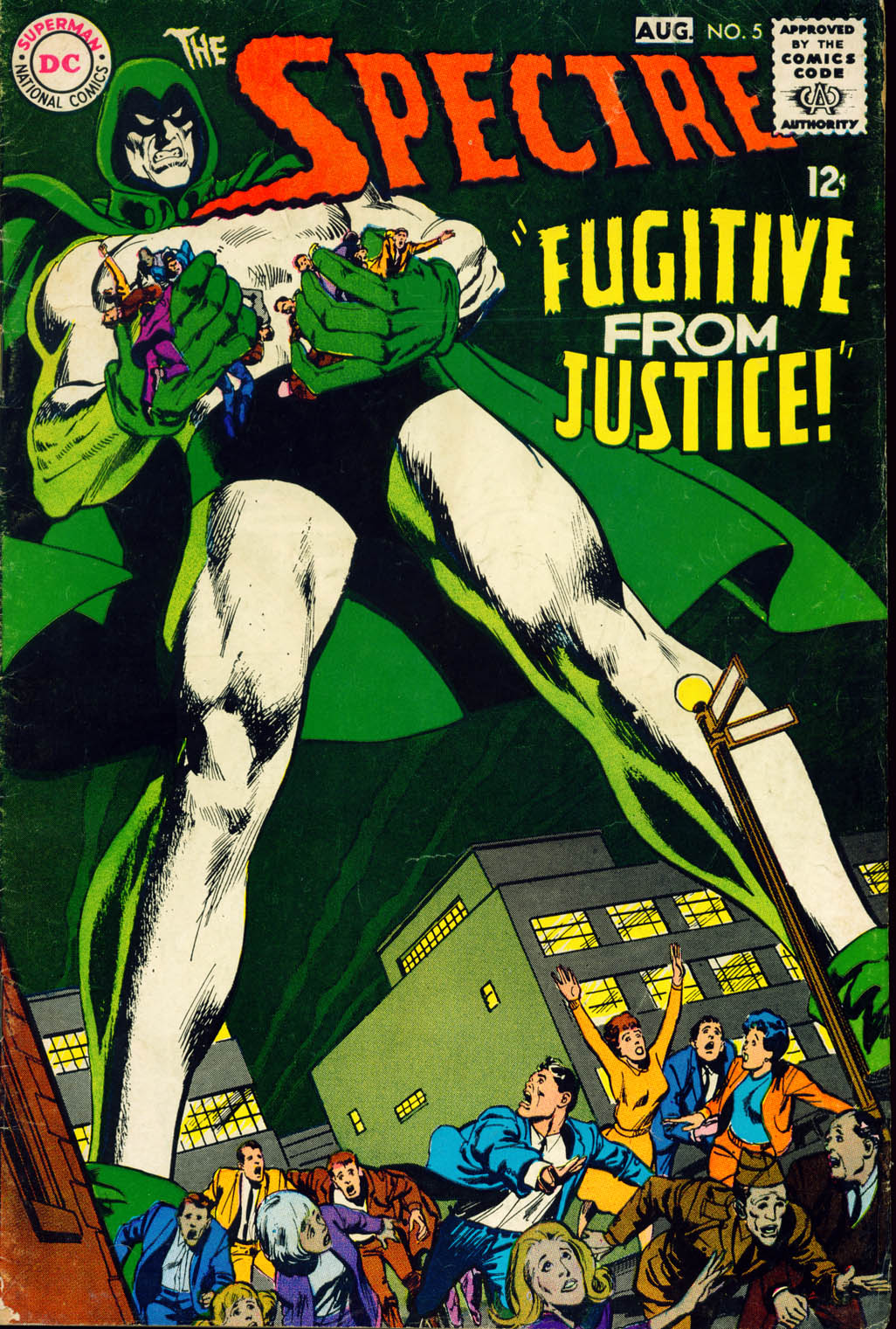 The Spectre (1967) issue 5 - Page 1