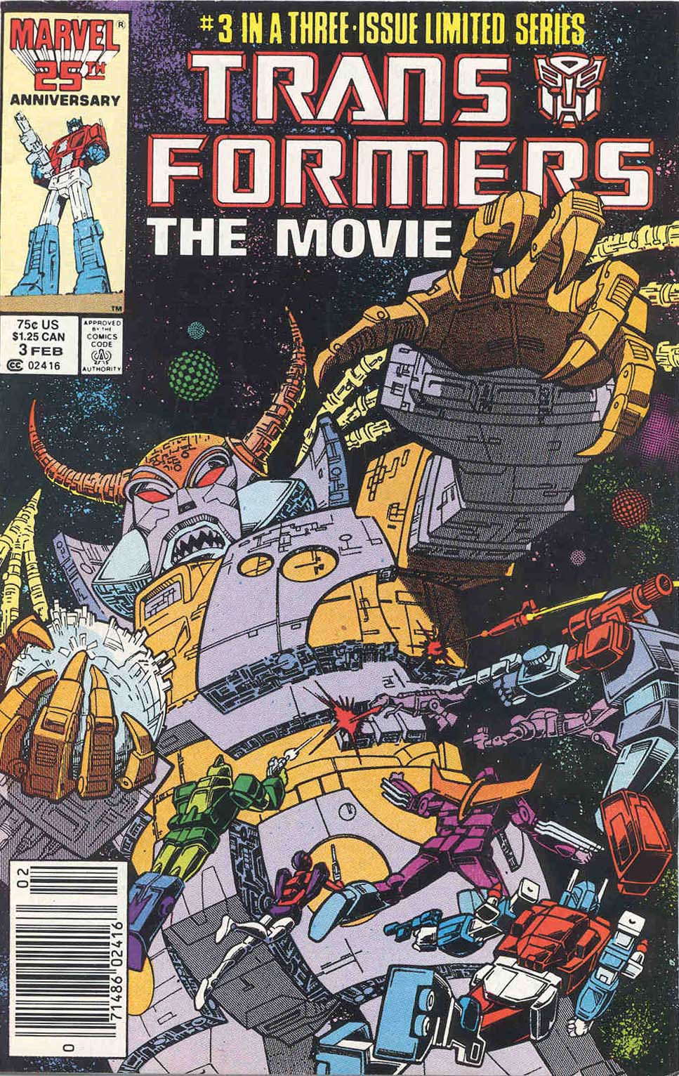The Transformers: The Movie 3 Page 1