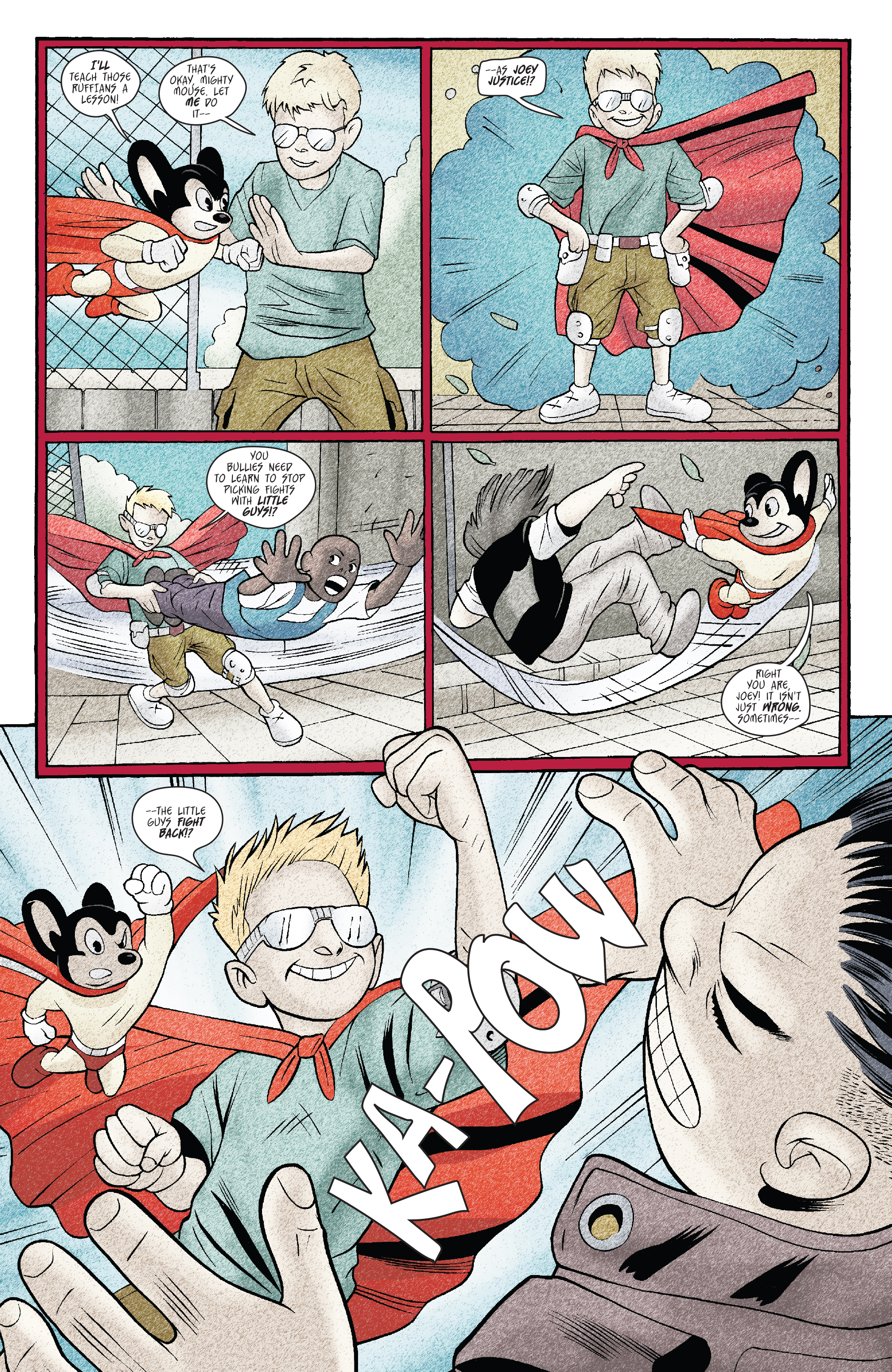 Read online Mighty Mouse (2017) comic -  Issue #1 - 19