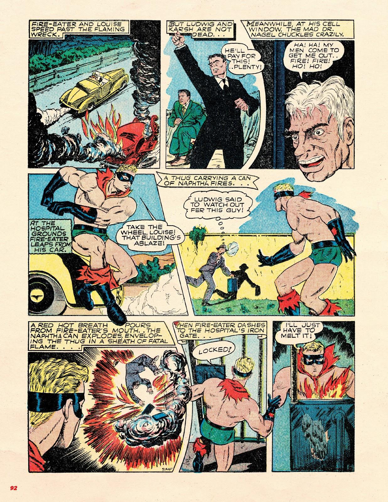 Read online Super Weird Heroes comic -  Issue # TPB 2 (Part 1) - 92