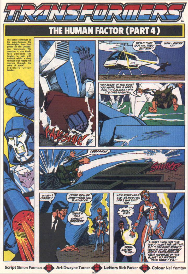 The Transformers (UK) 305 Page 2