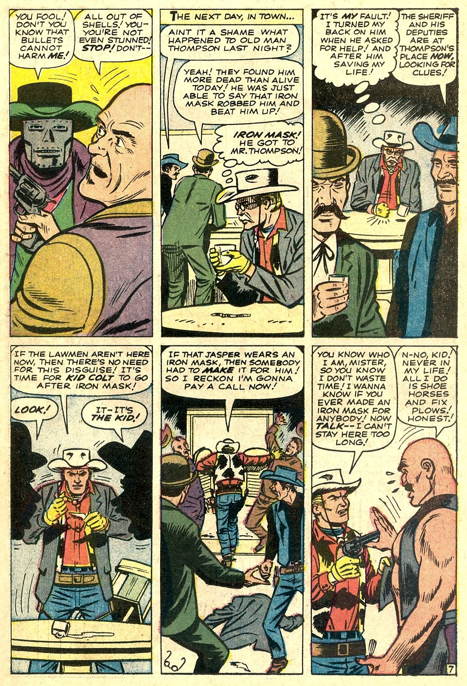 Kid Colt Outlaw issue 110 - Page 11