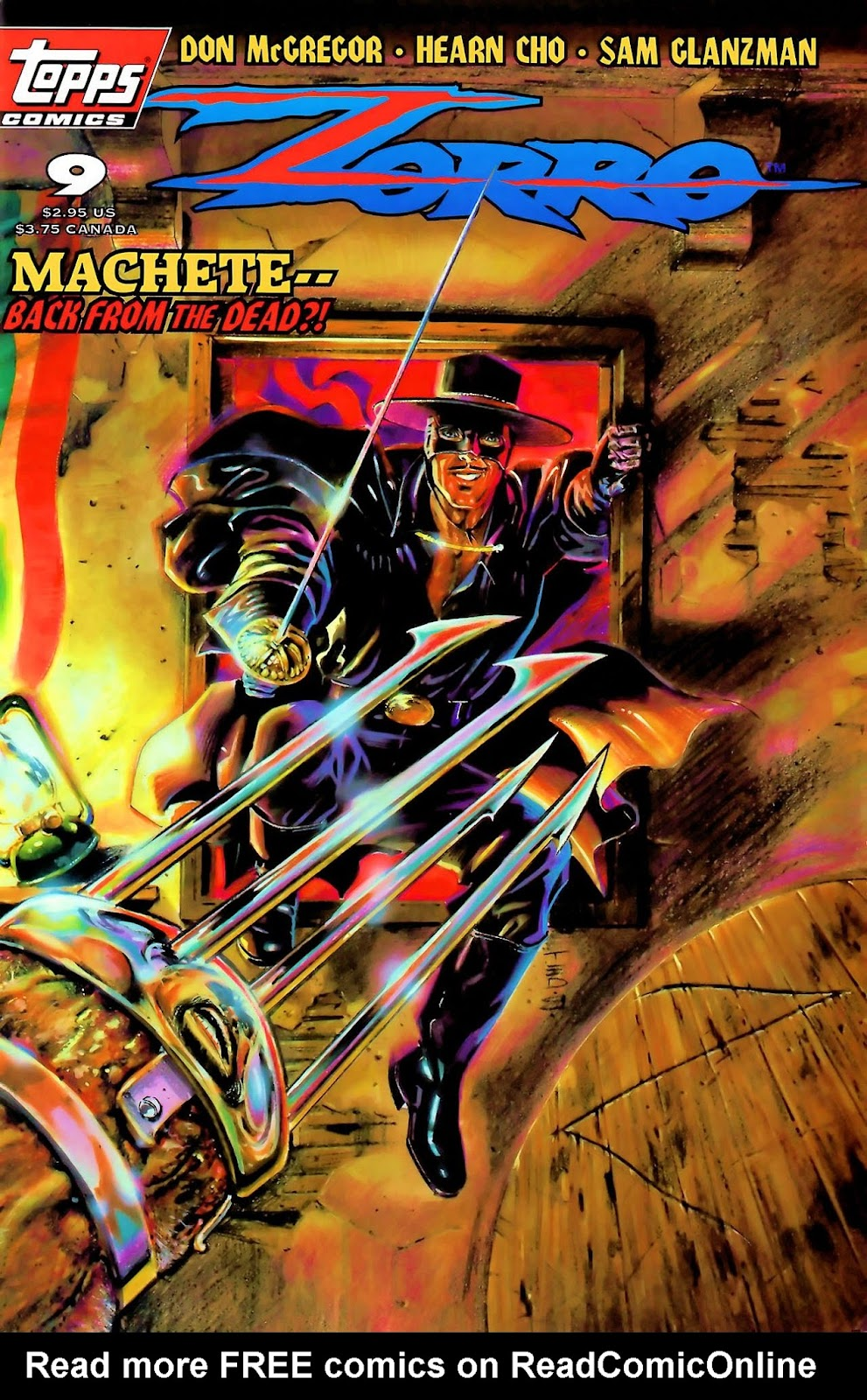 Zorro (1993) 9 Page 1