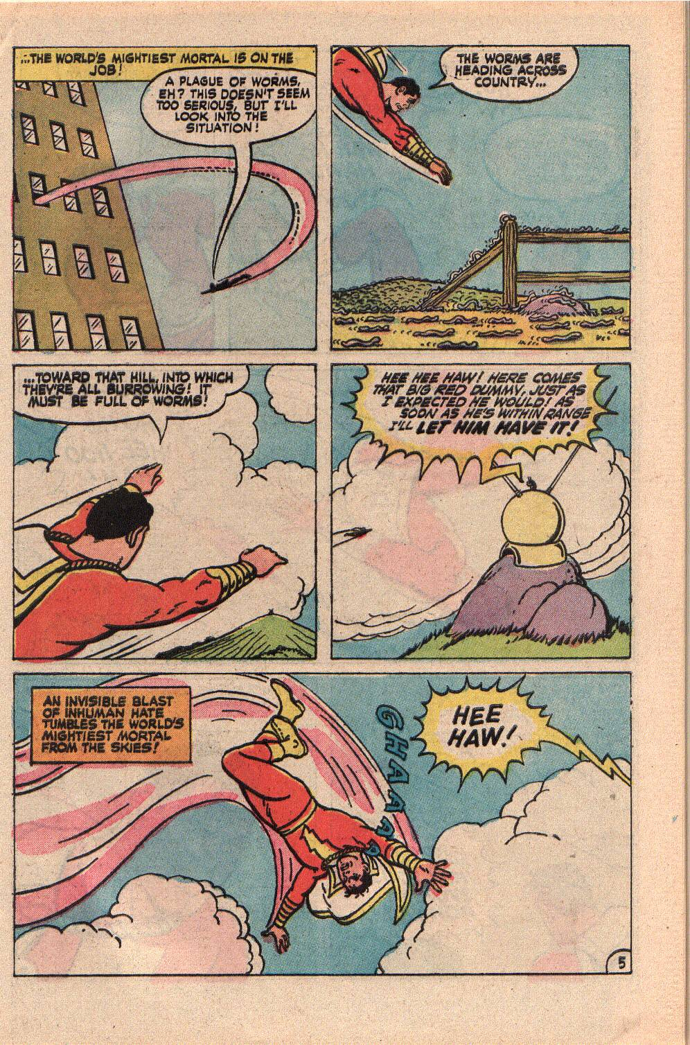 Read online Shazam! (1973) comic -  Issue #9 - 9