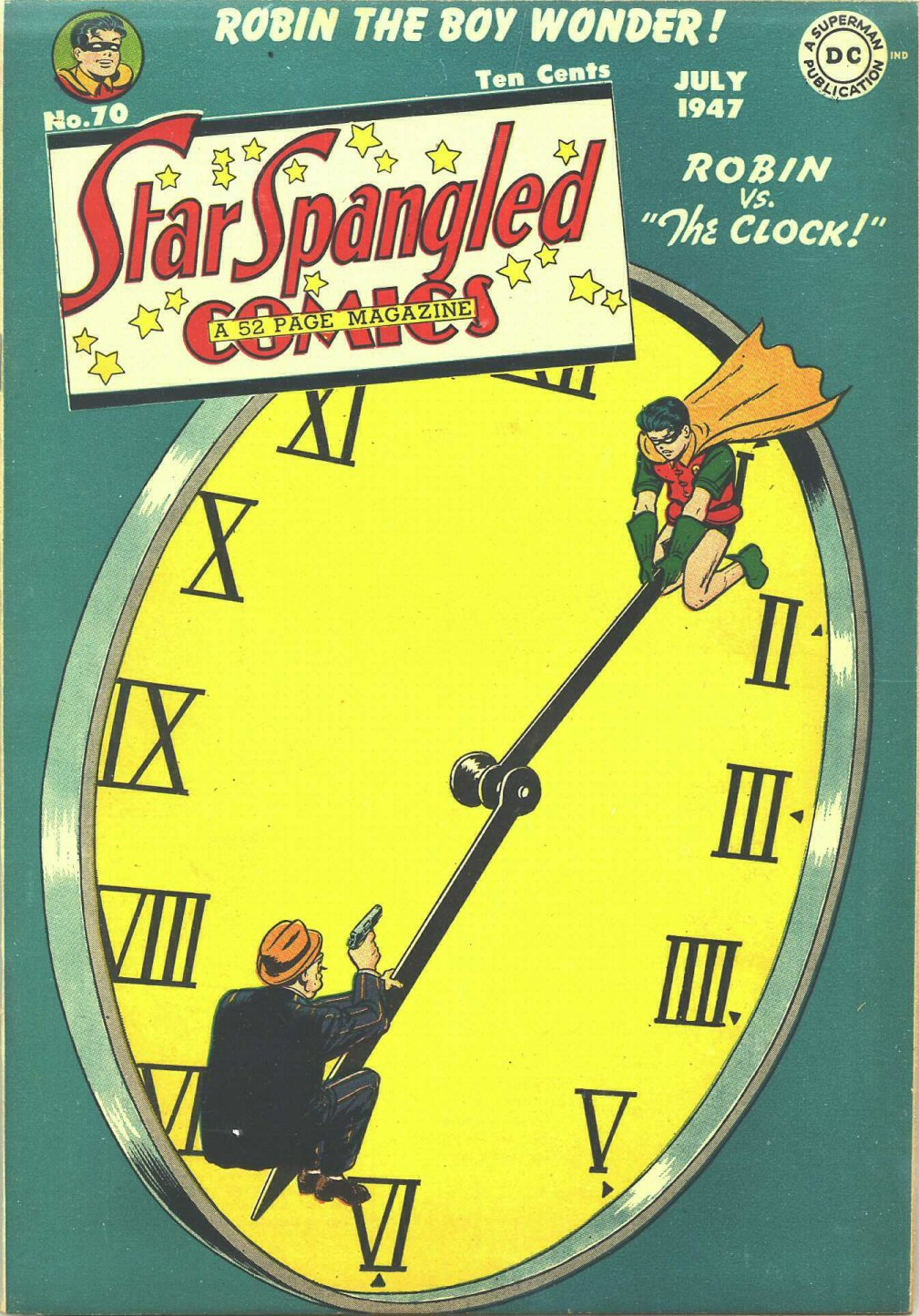 Star Spangled Comics (1941) issue 70 - Page 1
