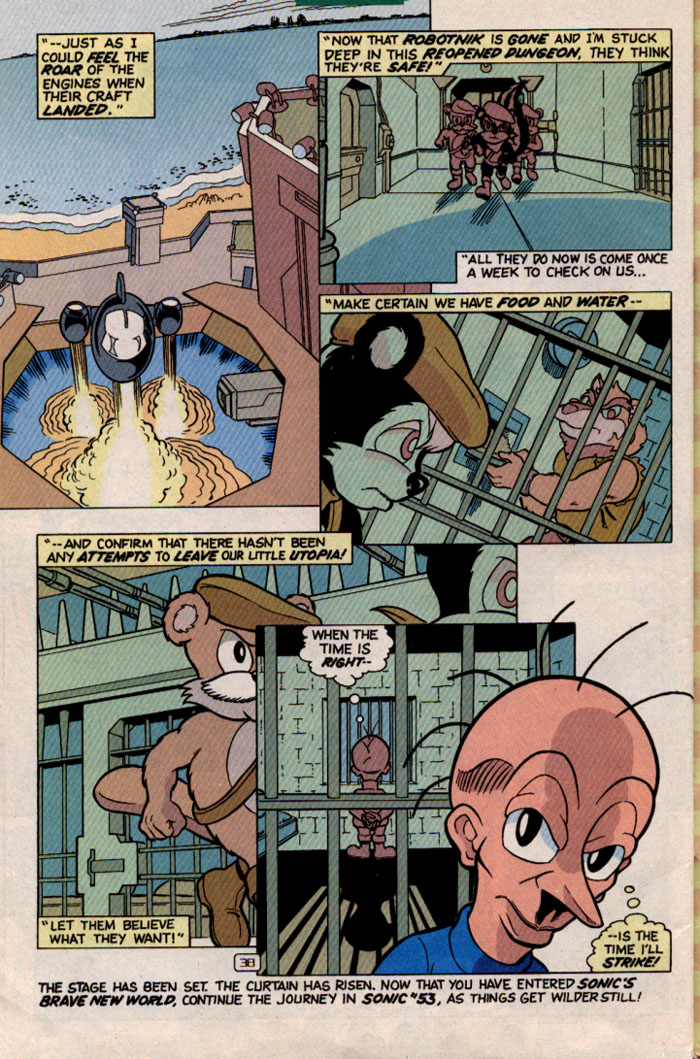 Read online Sonic Super Special comic -  Issue #2 - Brave new world - 40