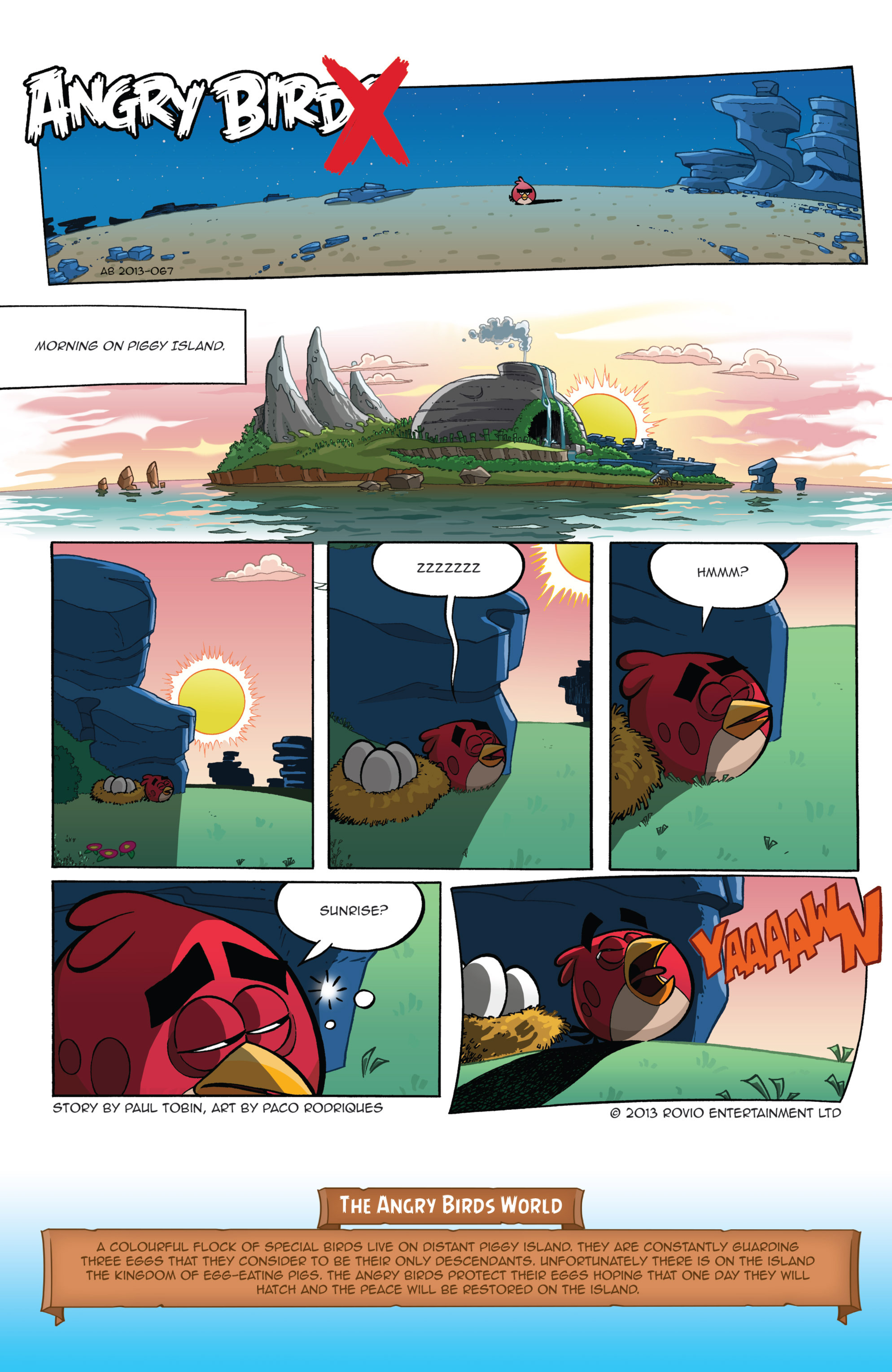 Read online Angry Birds Comics (2016) comic -  Issue #1 - 3