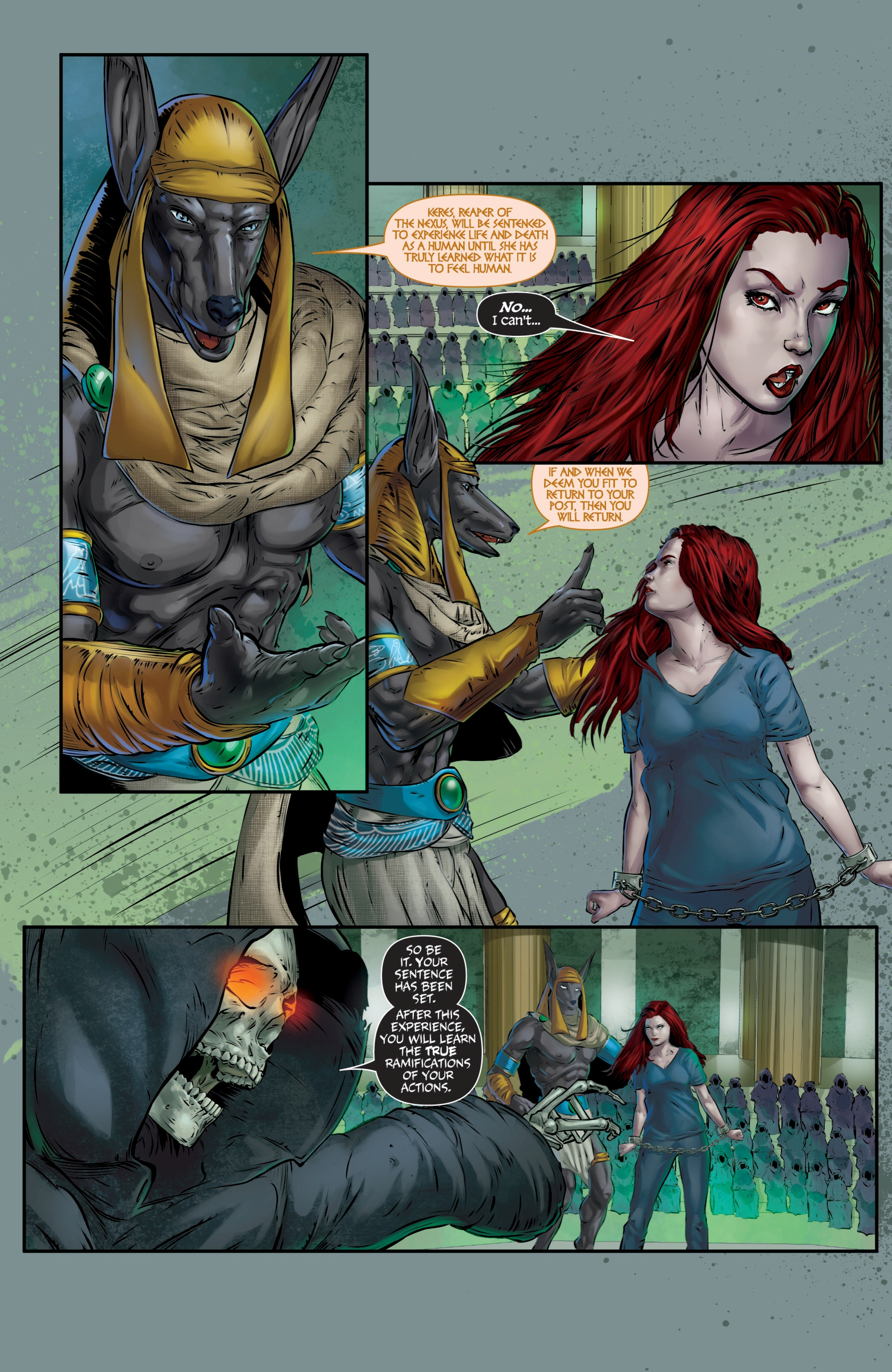Read online Grimm Fairy Tales presents Death comic -  Issue # Full - 15