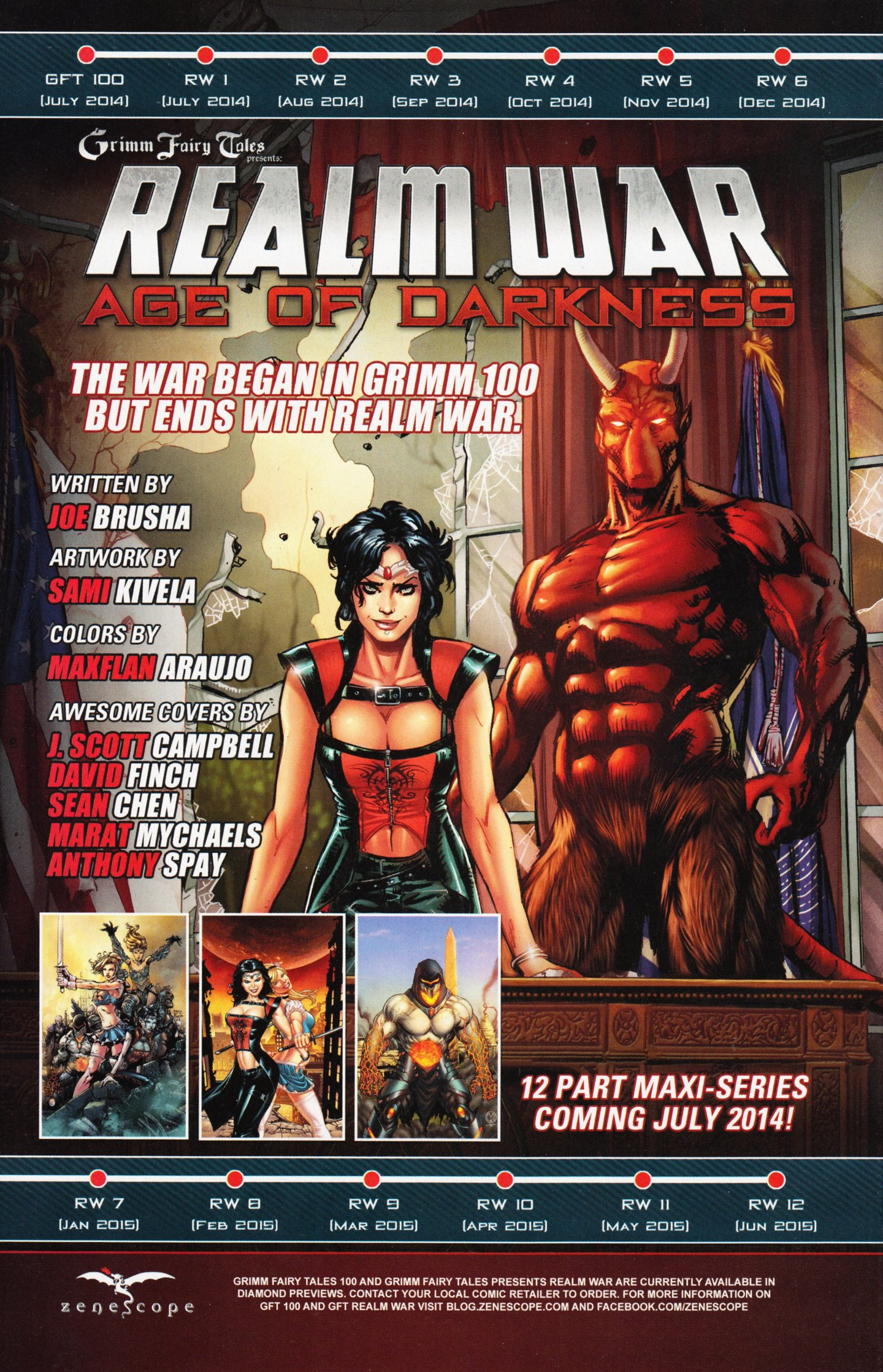 Read online Grimm Fairy Tales vs. Wonderland comic -  Issue #2 - 28
