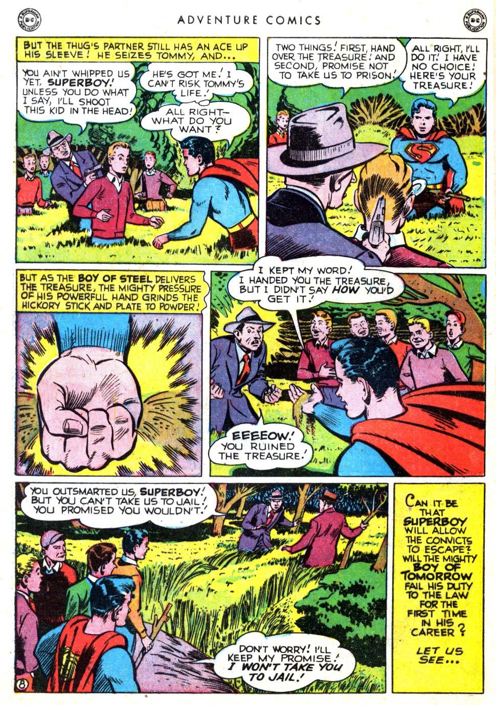 Read online Adventure Comics (1938) comic -  Issue #137 - 10