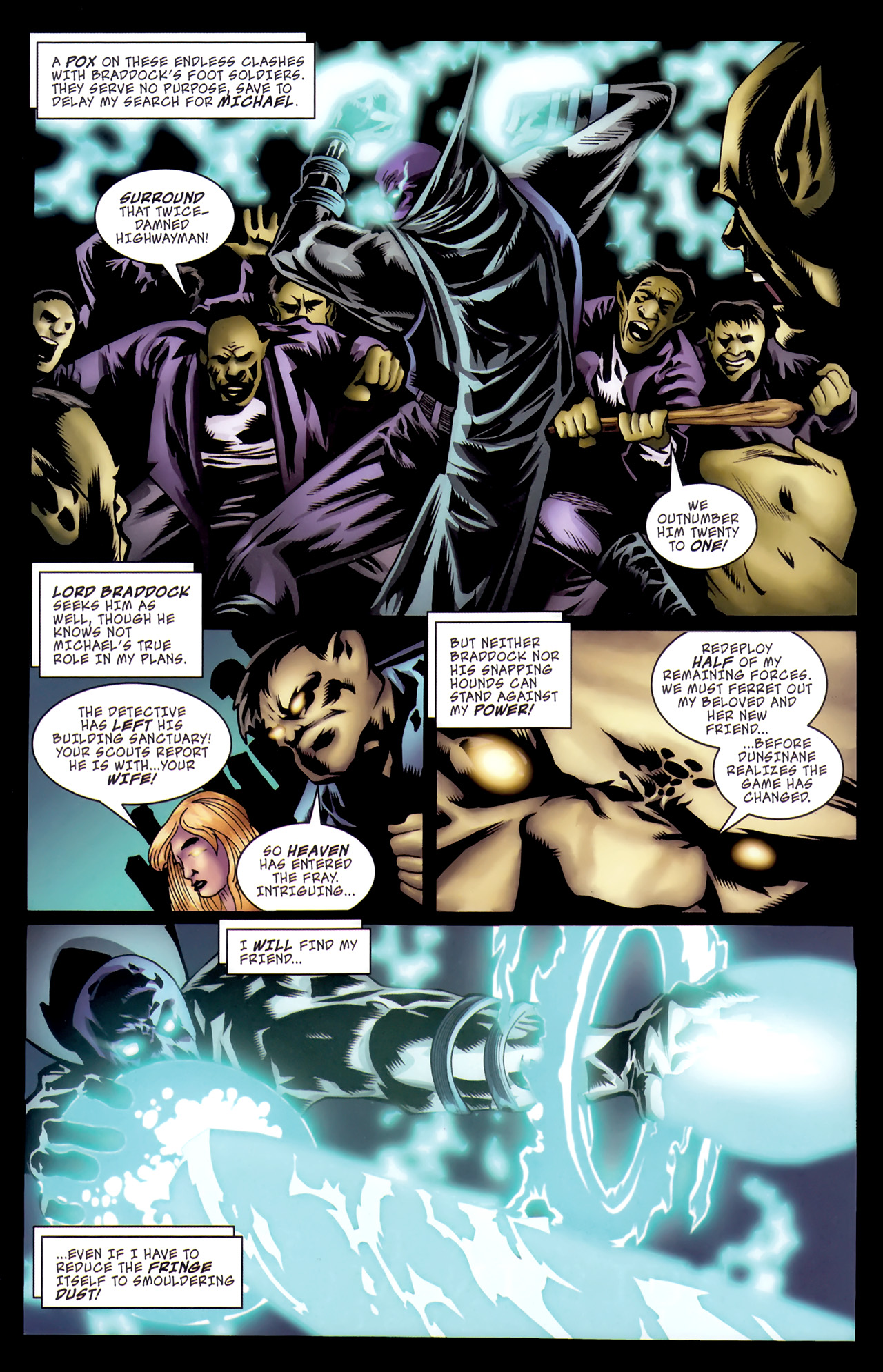Read online The Grim Ghost comic -  Issue #5 - 6