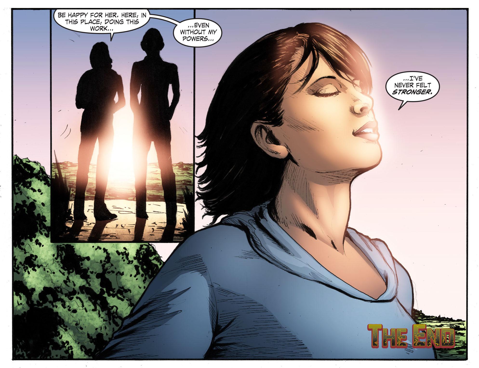 Read online Smallville: Season 11 comic -  Issue #50 - 22