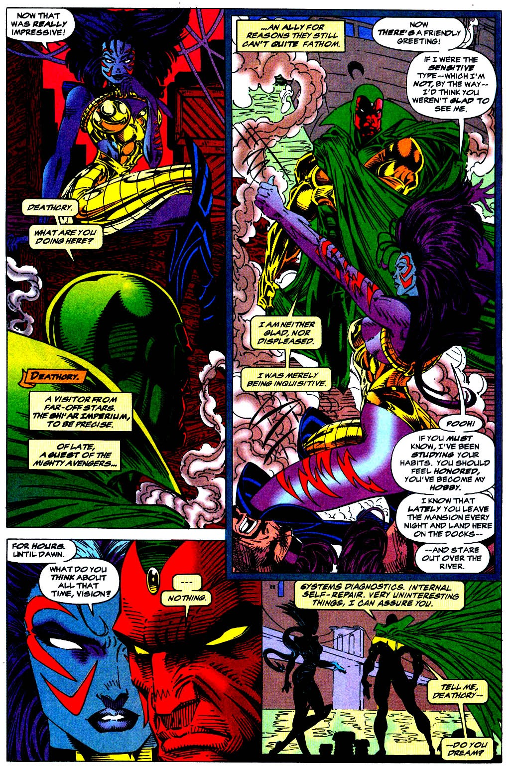 Read online The Vision comic -  Issue #1 - 6