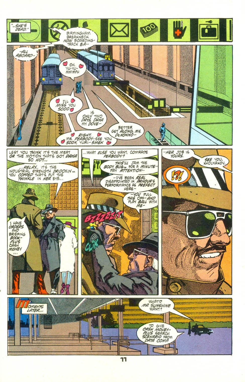 Read online American Flagg! comic -  Issue #25 - 13