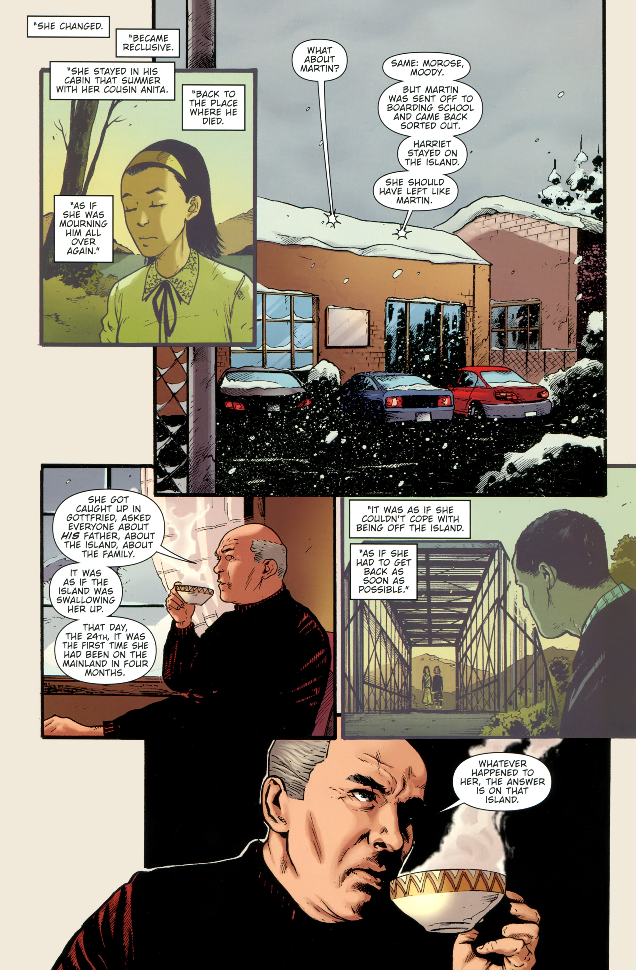 Read online The Girl With the Dragon Tattoo comic -  Issue # TPB 1 - 111