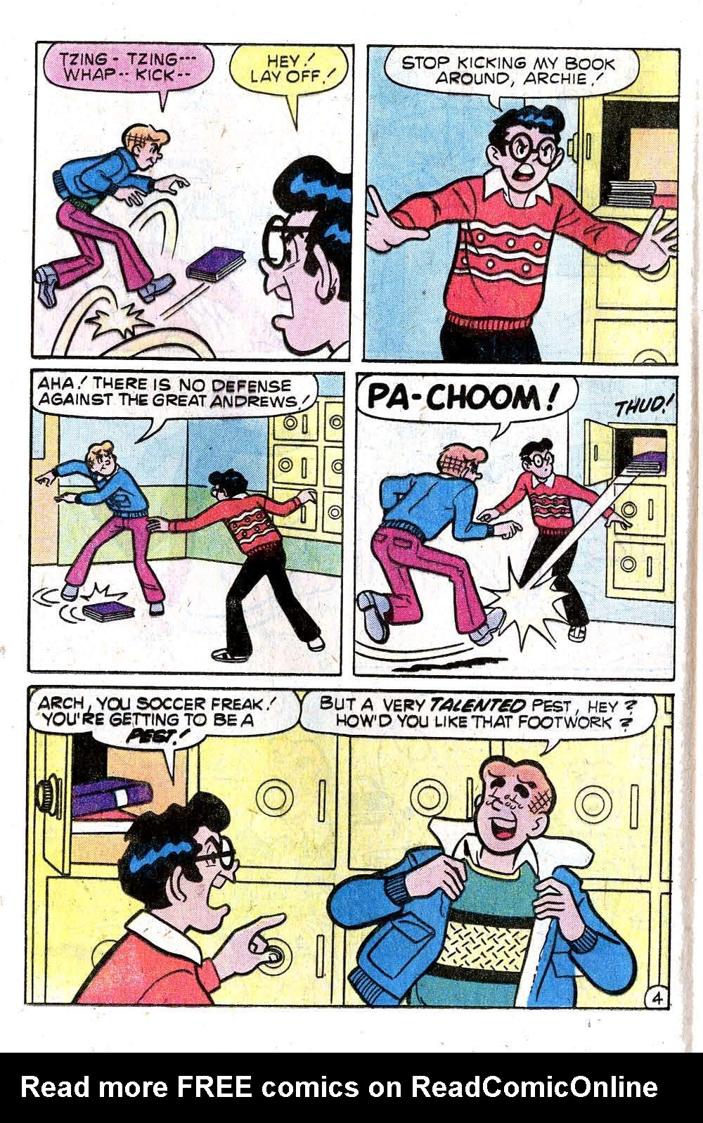 Read online Archie (1960) comic -  Issue #270 - 16