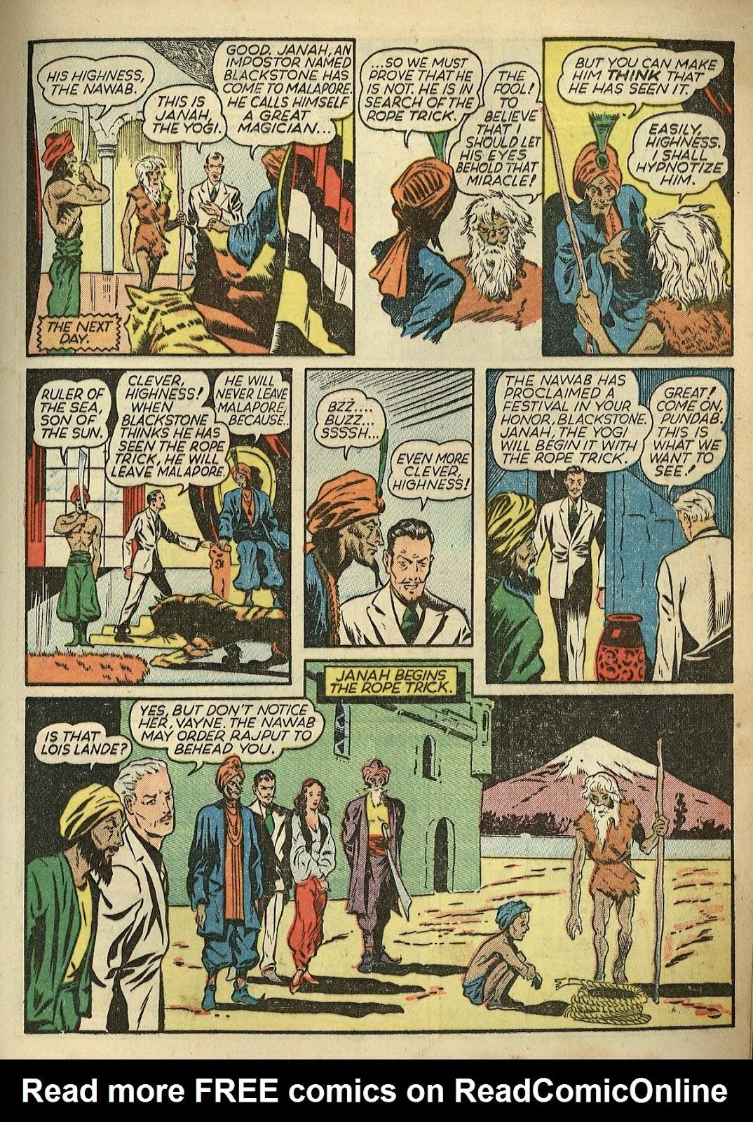 Read online Super-Magician Comics comic -  Issue #1 - 17