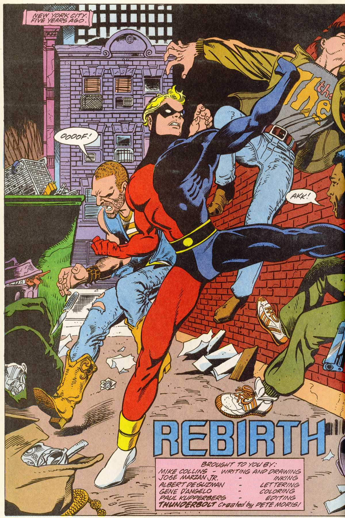 Read online Peter Cannon--Thunderbolt (1992) comic -  Issue #1 - 3