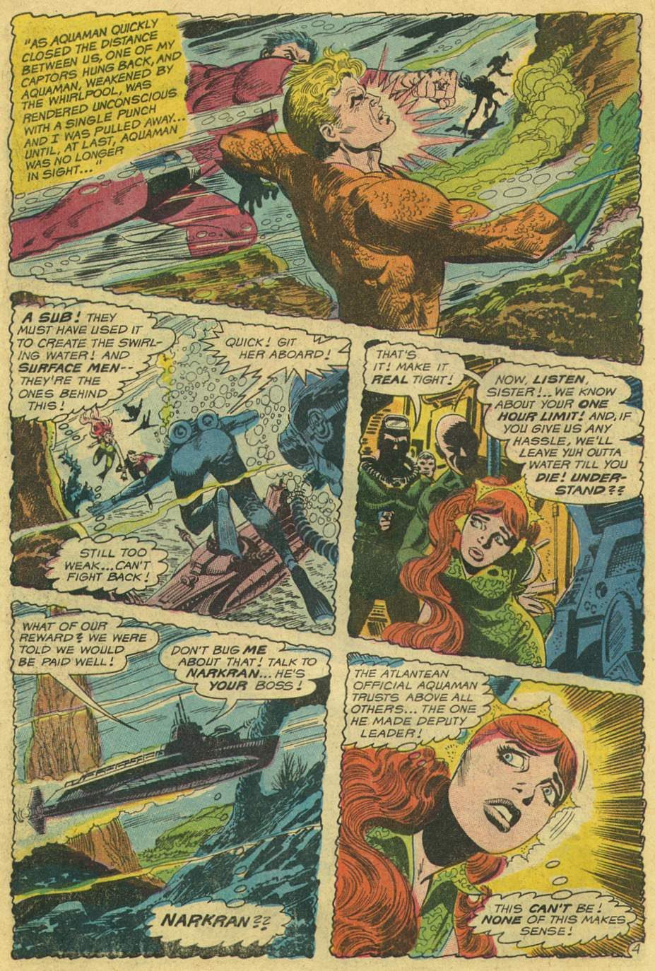 Read online Aquaman (1962) comic -  Issue #46 - 6